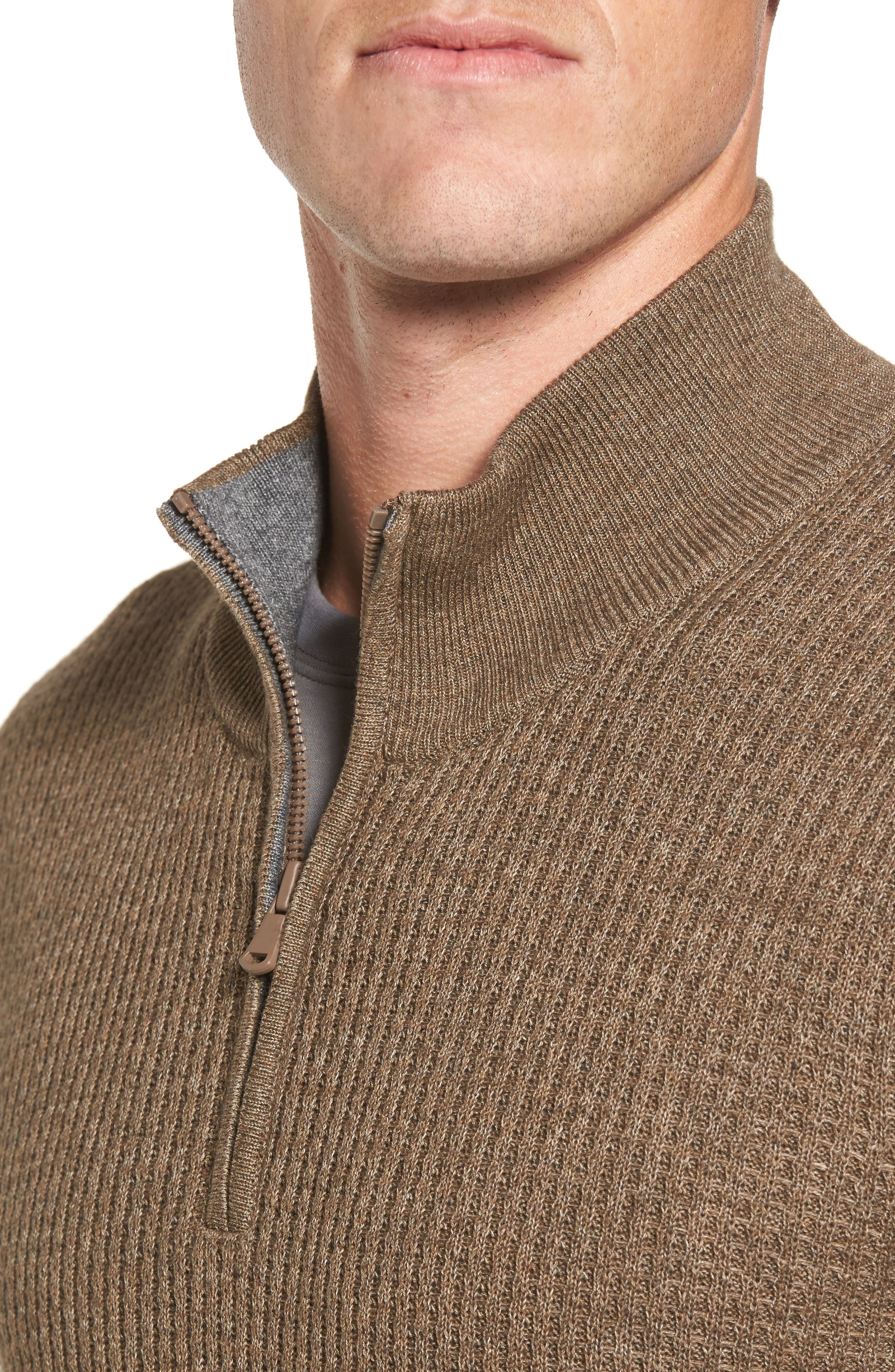 Higgins Quarter Zip Sweater,                             Alternate thumbnail 11, color,