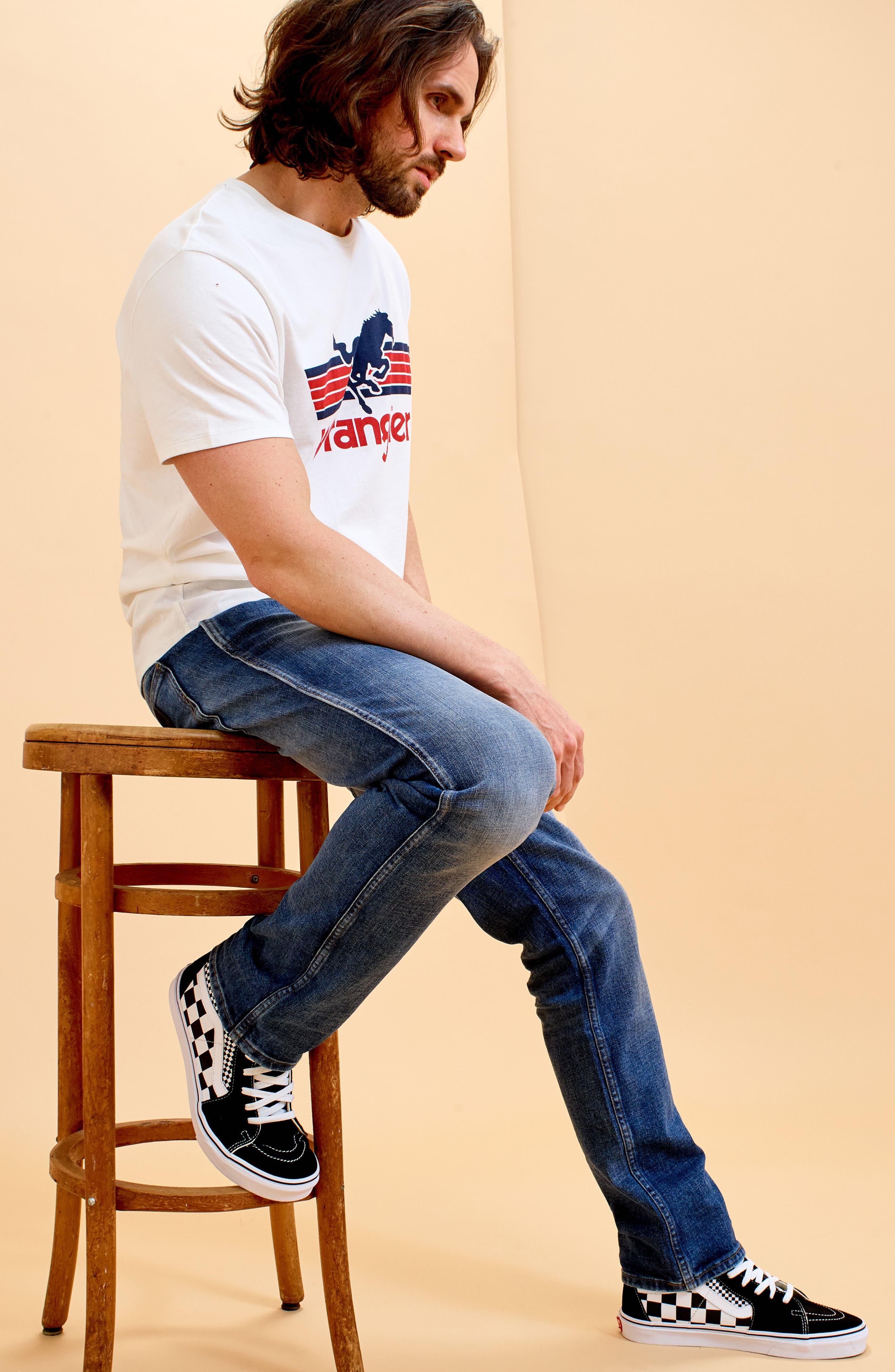 Greensboro Straight Leg Jeans,                             Alternate thumbnail 7, color,                             GOOD THING