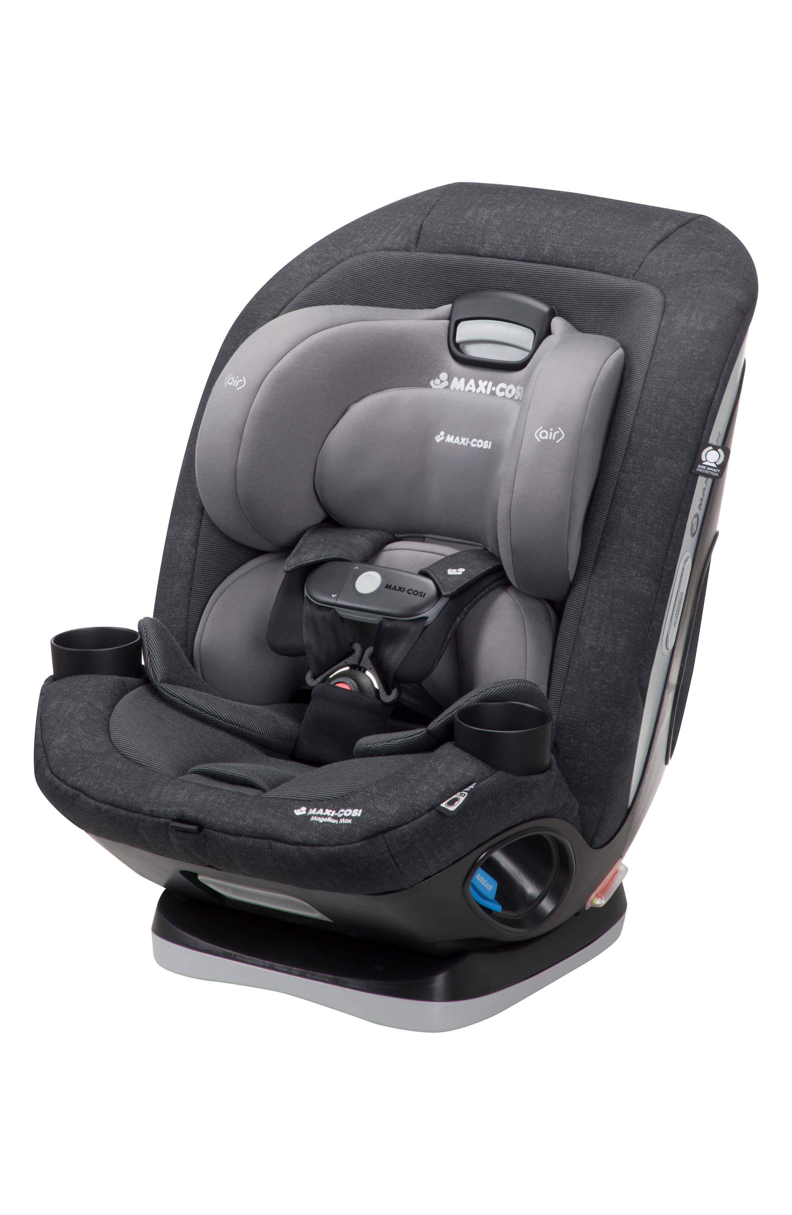 Magellan Max 2018 5-in-1 Convertible Car Seat,                             Alternate thumbnail 9, color,                             NOMAD BLACK