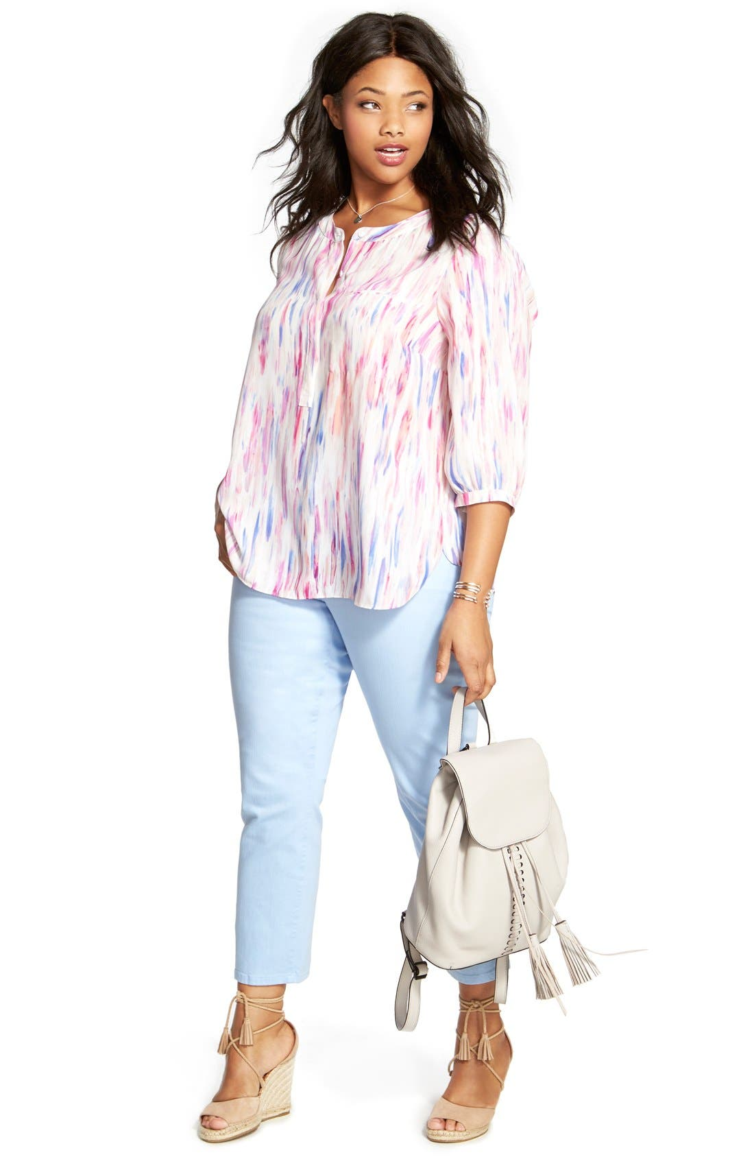 Henley Top,                             Alternate thumbnail 258, color,