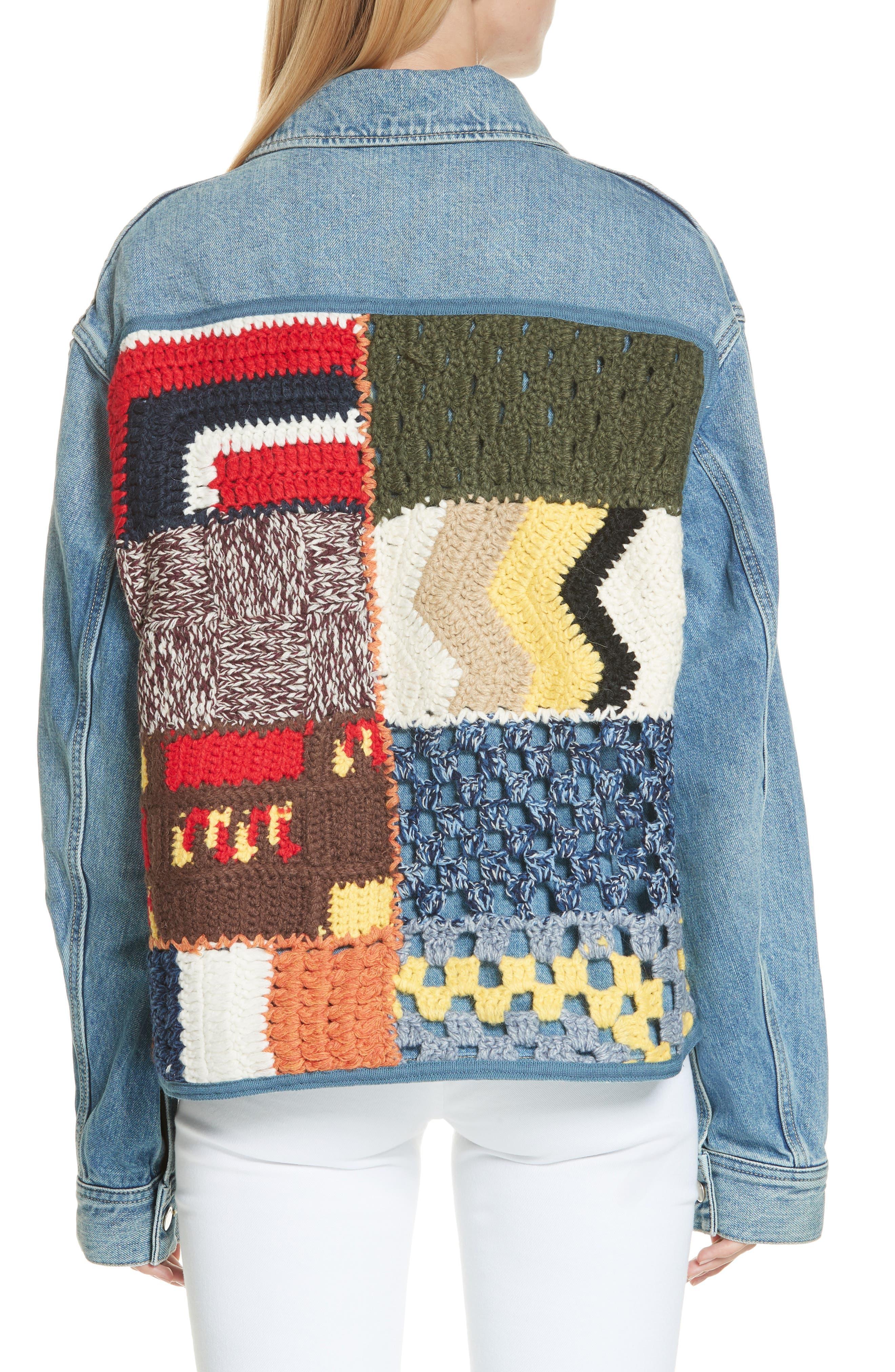 Denim Jacket,                             Alternate thumbnail 2, color,                             BLUE