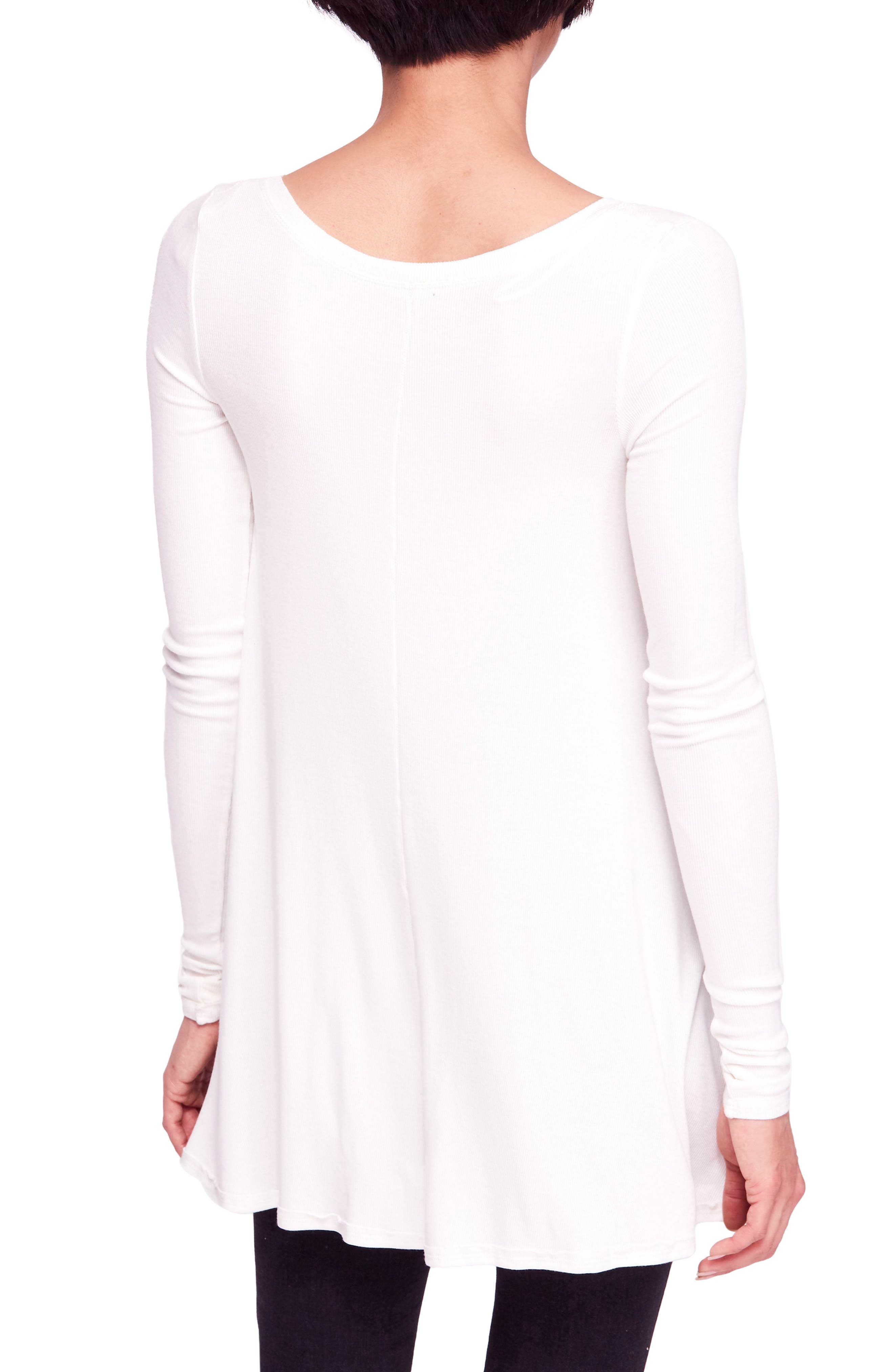 We the Free by Free People January Tee,                             Alternate thumbnail 2, color,                             IVORY