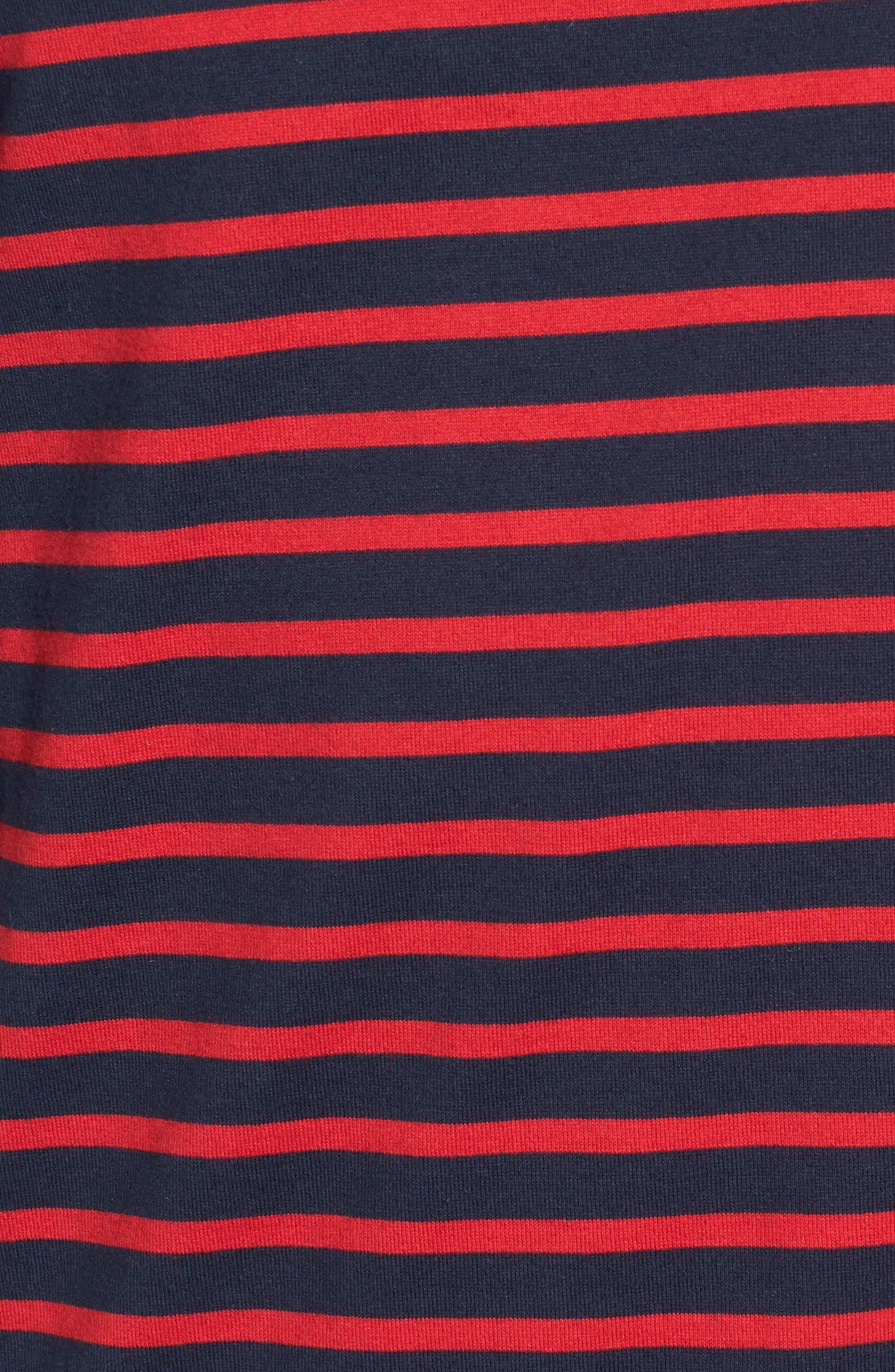 Julian Stripe Crewneck T-Shirt,                             Alternate thumbnail 10, color,