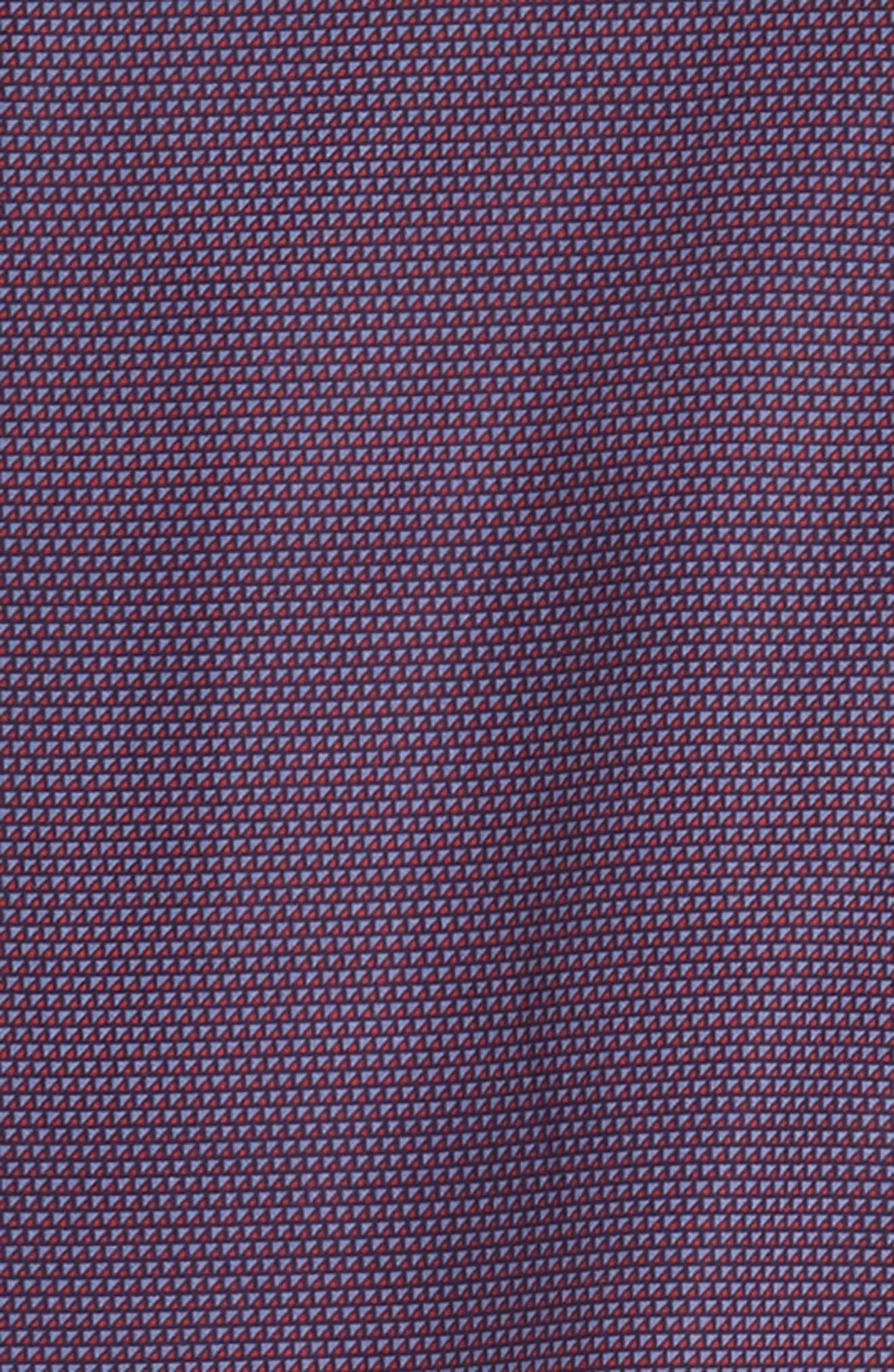 Samir Regular Fit Print Sport Shirt,                             Alternate thumbnail 6, color,                             RED