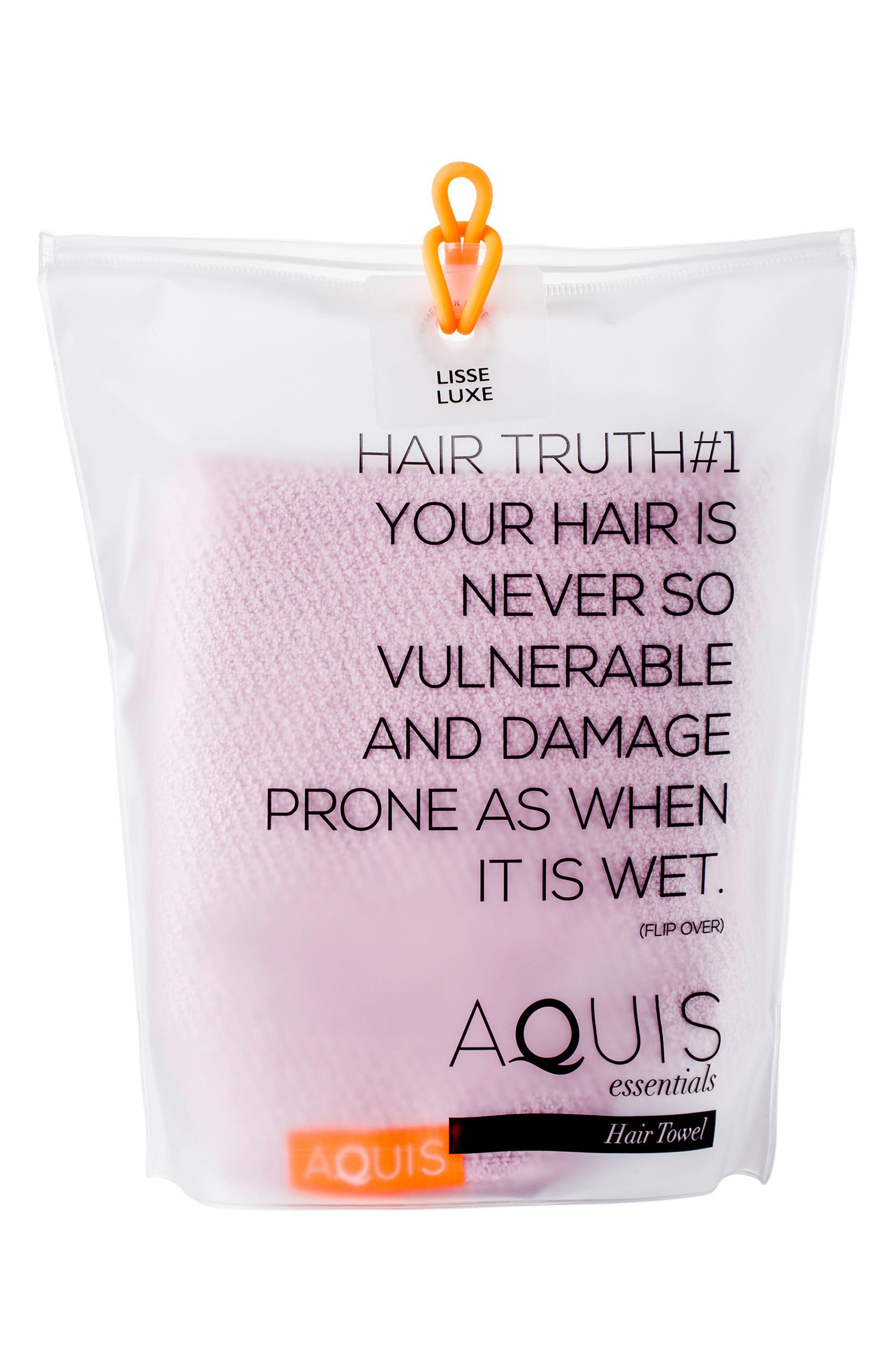 Lisse Luxe Desert Rose Hair Turban,                             Alternate thumbnail 4, color,                             DESERT ROSE