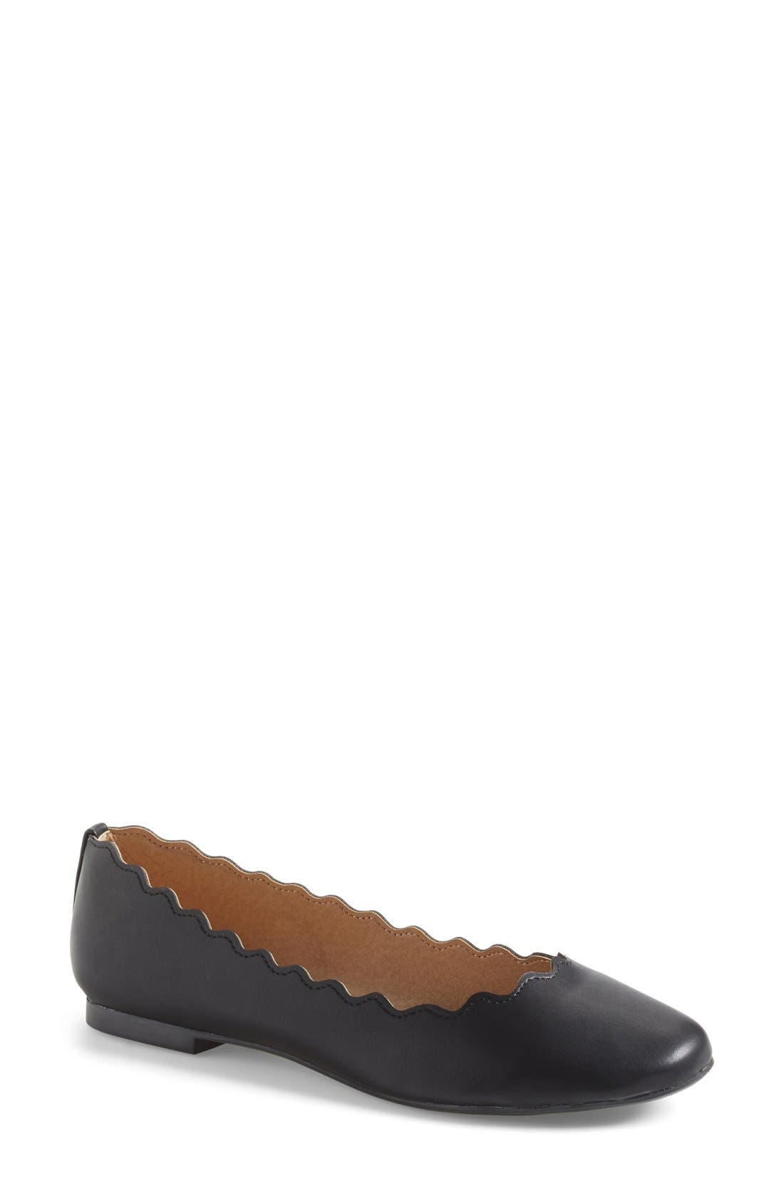 'Toffy' Ballet Flat,                         Main,                         color, 001