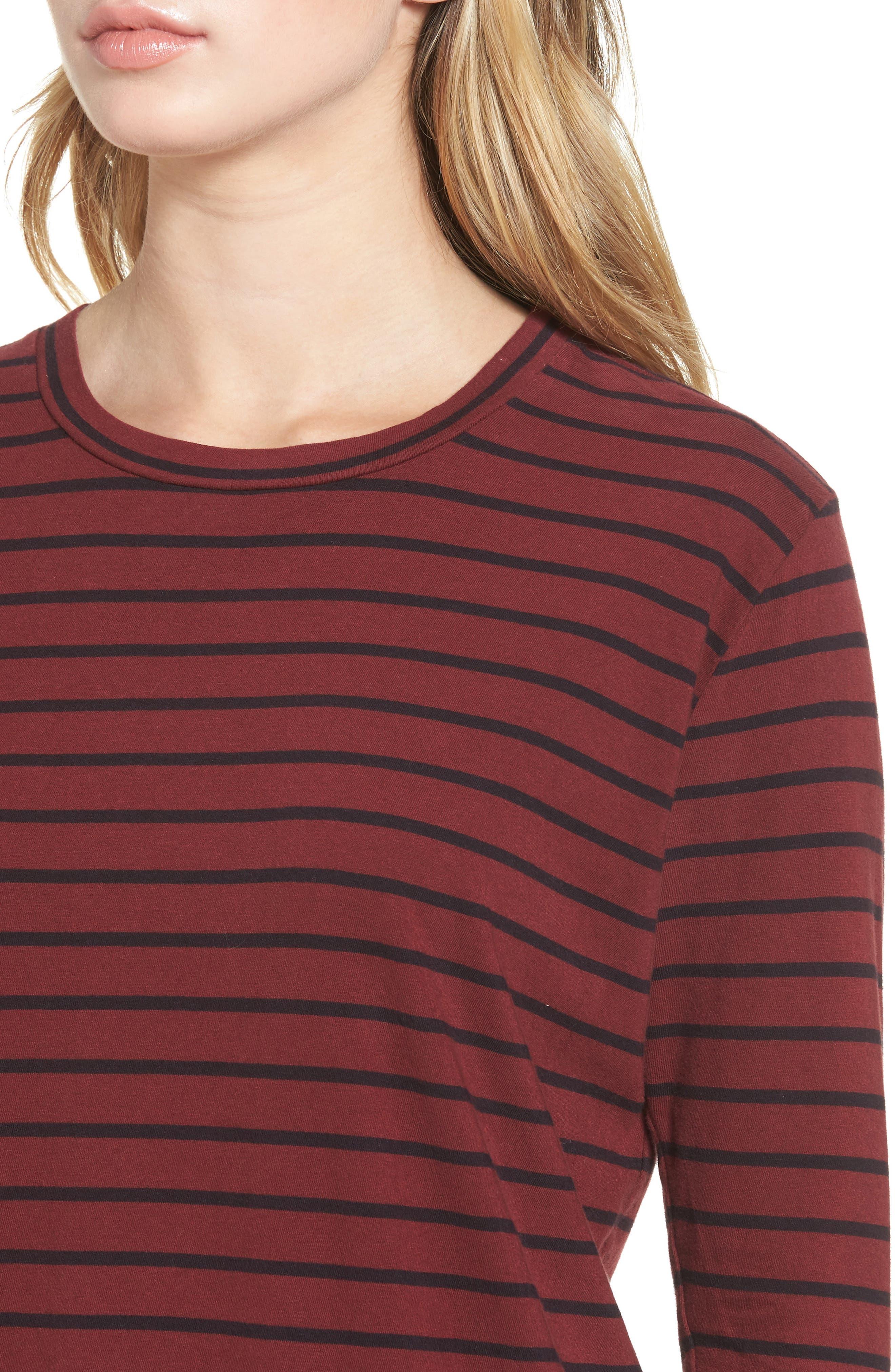 The Beatnik T-Shirt Dress,                             Alternate thumbnail 4, color,                             601