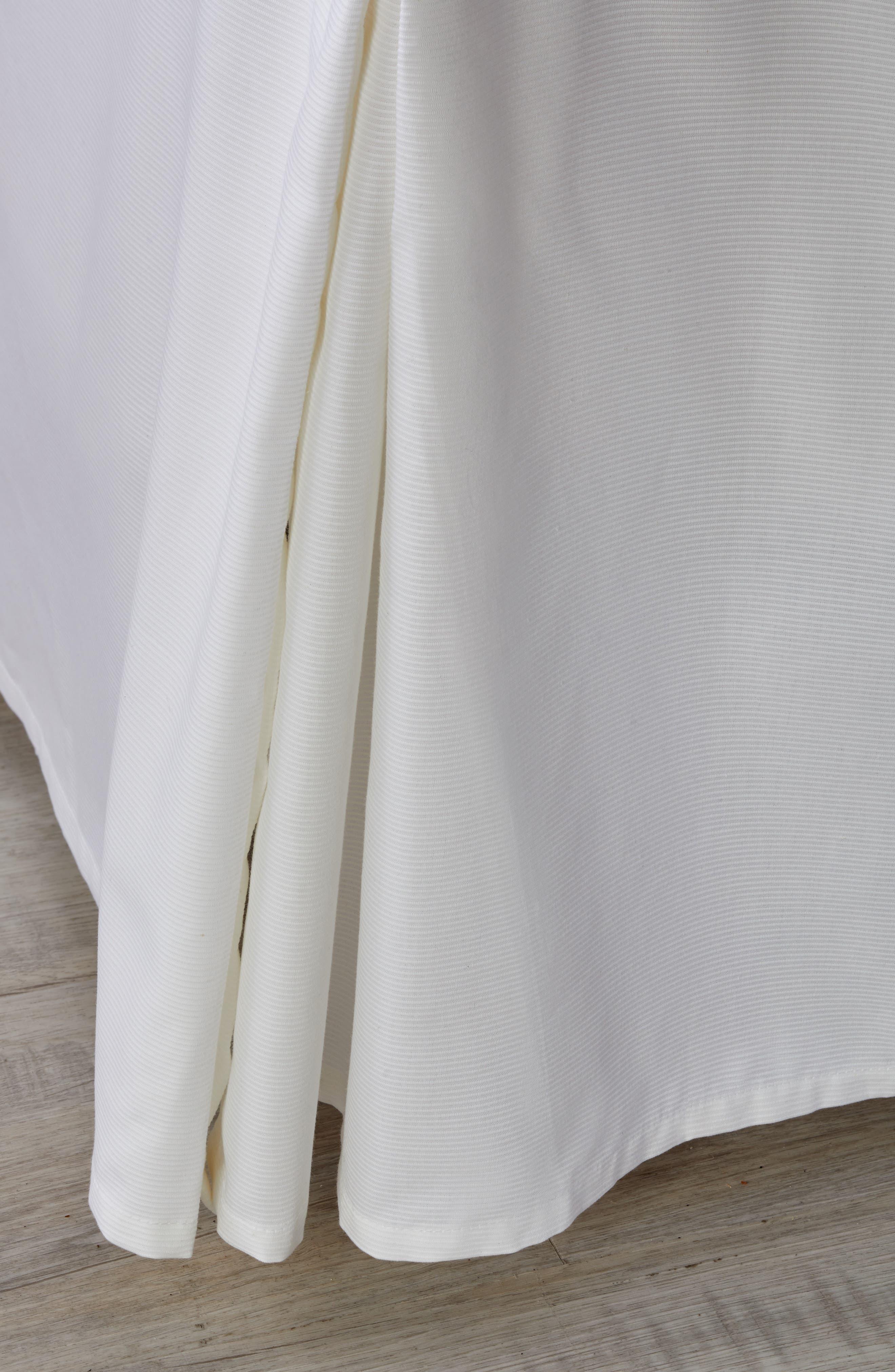 Woven Rib Bed Skirt,                         Main,                         color, 100