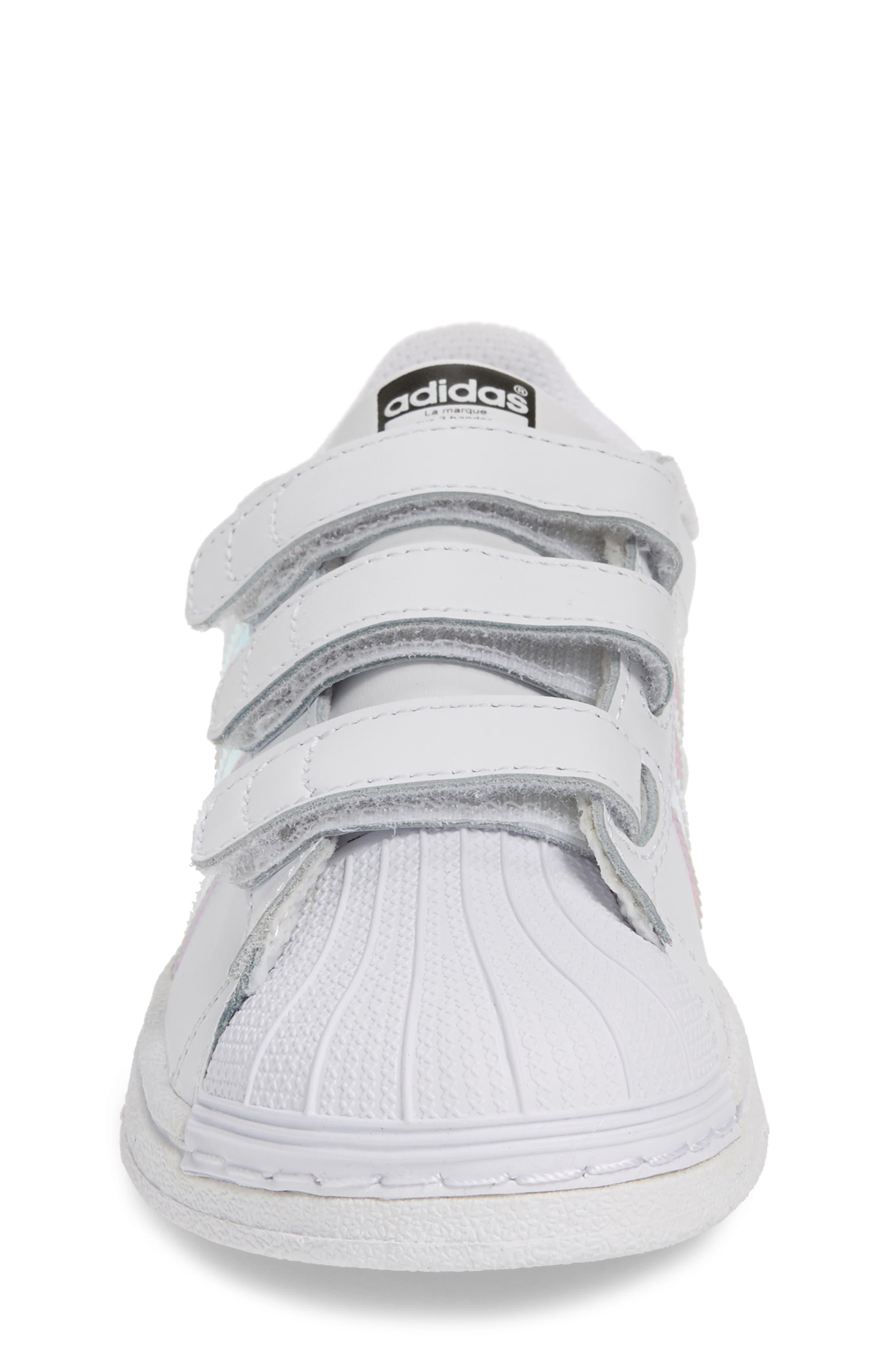 Superstar - Iridescent Sneaker,                             Alternate thumbnail 4, color,                             100