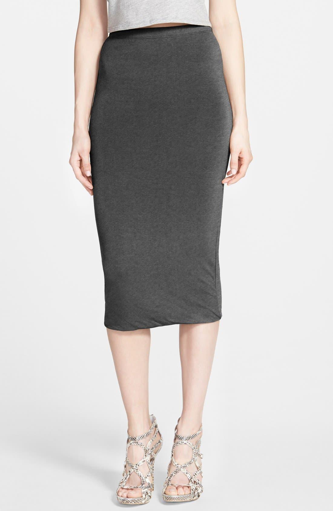 Double Layered Tube Skirt,                             Main thumbnail 2, color,