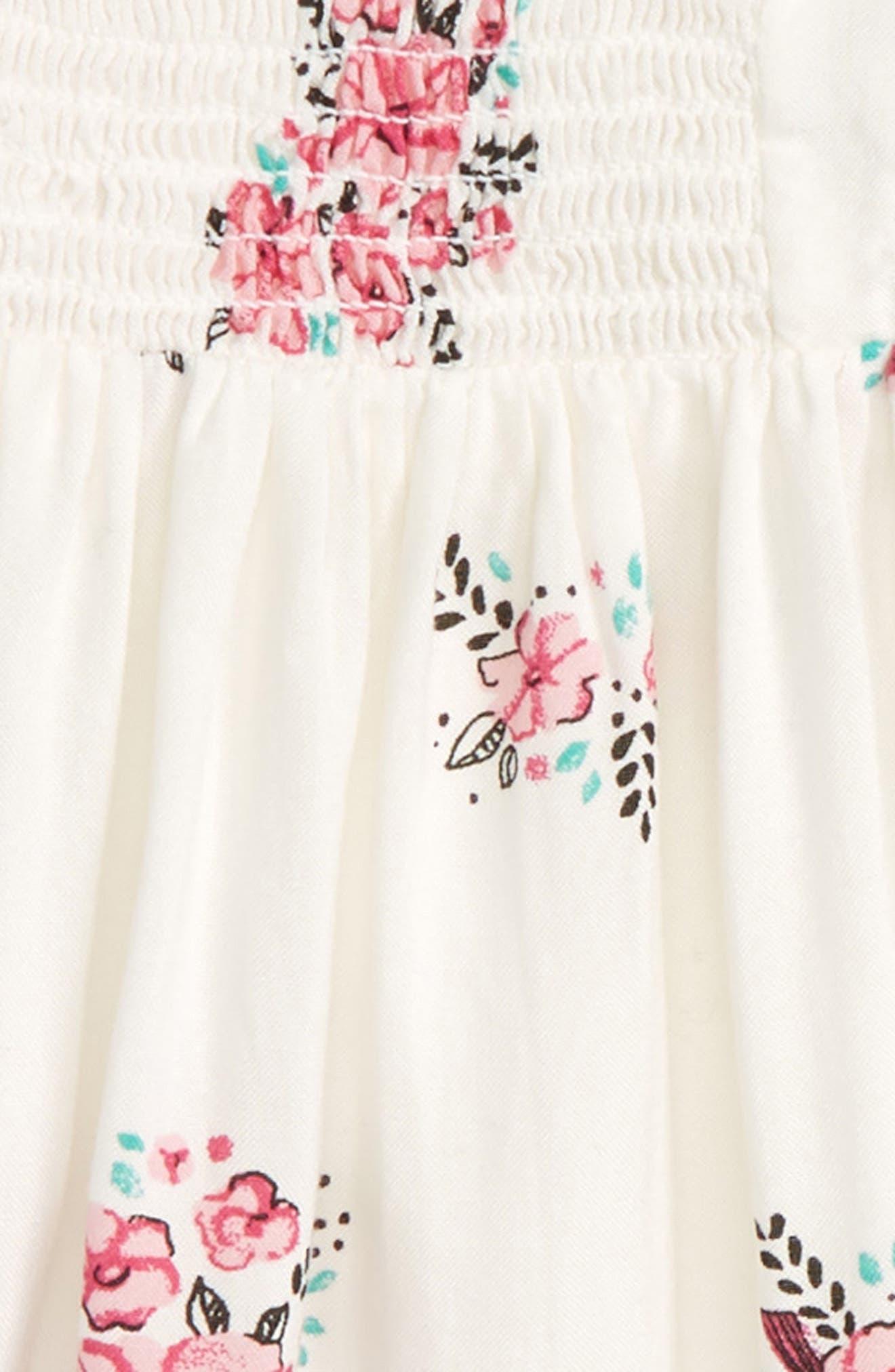 Smocked Dress,                             Alternate thumbnail 2, color,                             901