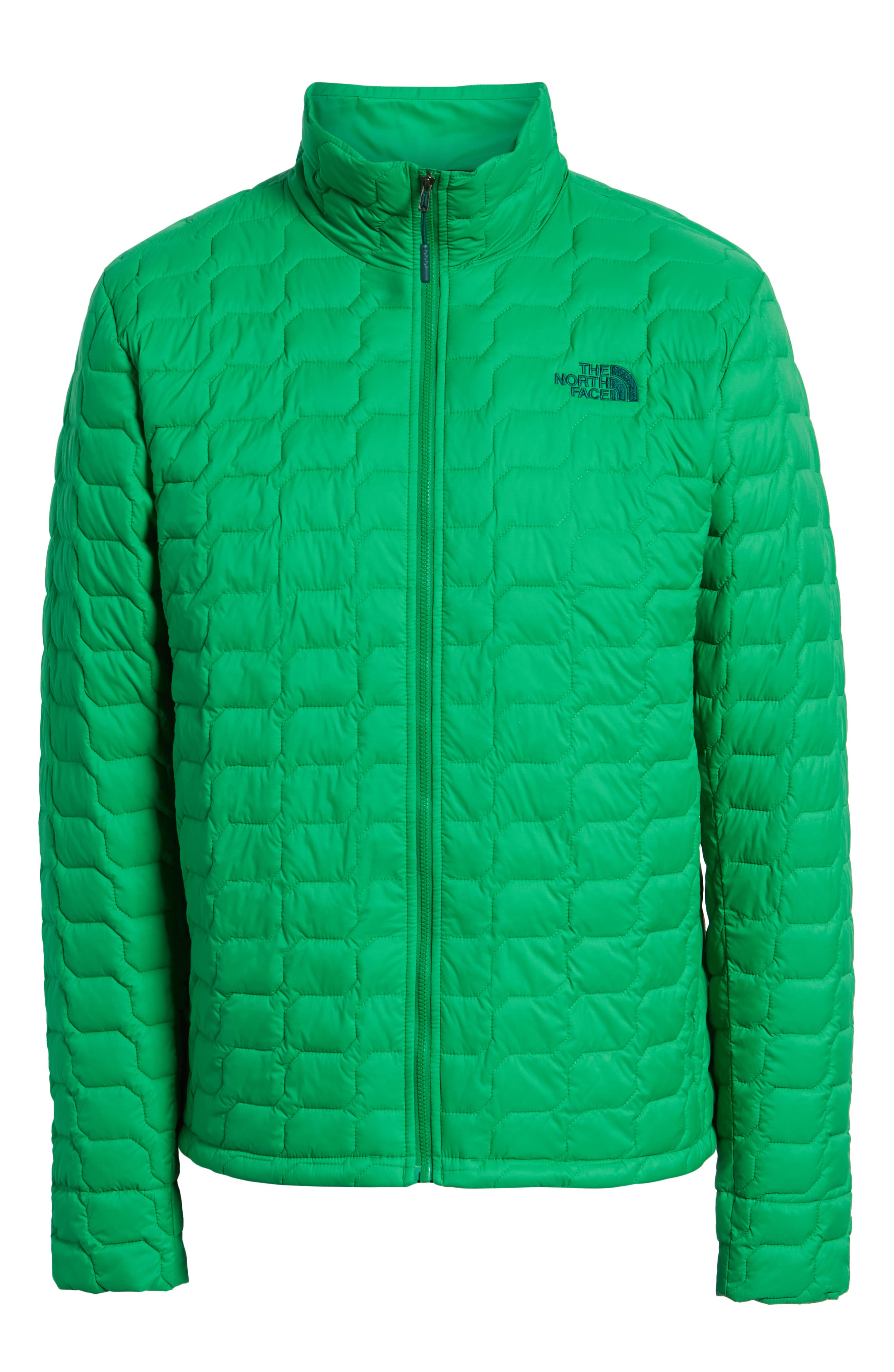 THE NORTH FACE,                             ThermoBall<sup>™</sup> Jacket,                             Alternate thumbnail 6, color,                             PRIMARY GREEN MATTE