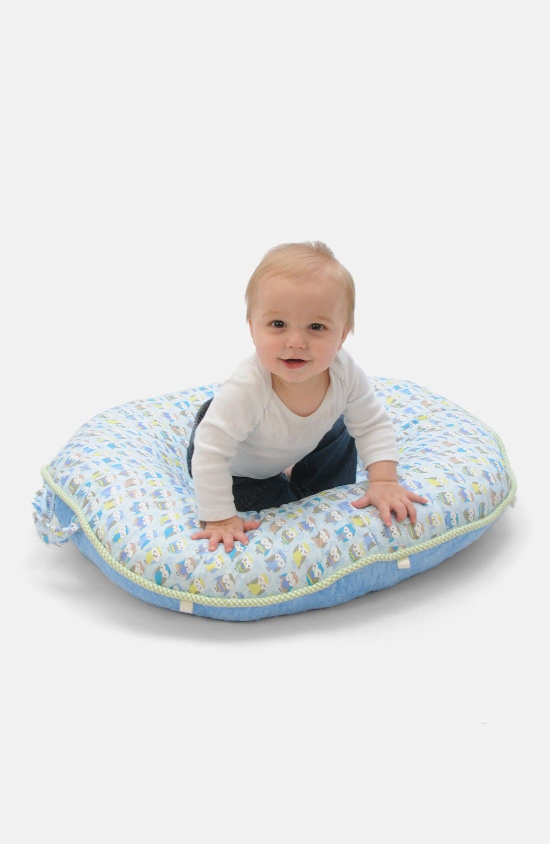 'Pello - Hoo Loves Ya Boy' Portable Floor Pillow,                             Main thumbnail 1, color,