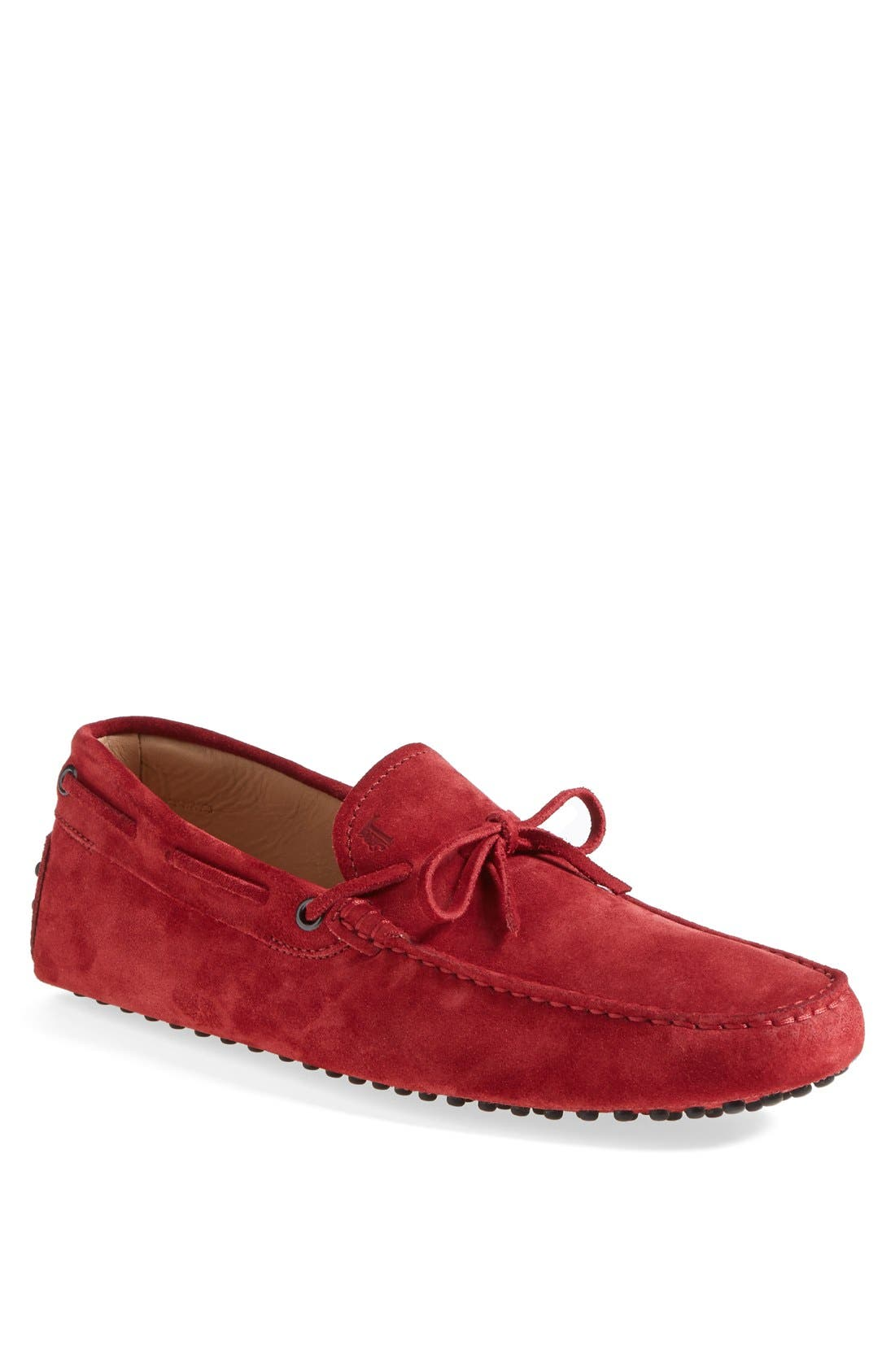 Gommini Tie Front Driving Moccasin,                             Main thumbnail 17, color,