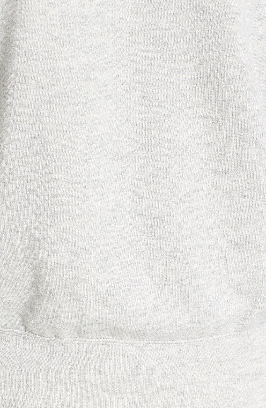 Comme des Garçons 'Play' Cotton Zip Hoodie,                             Alternate thumbnail 2, color,