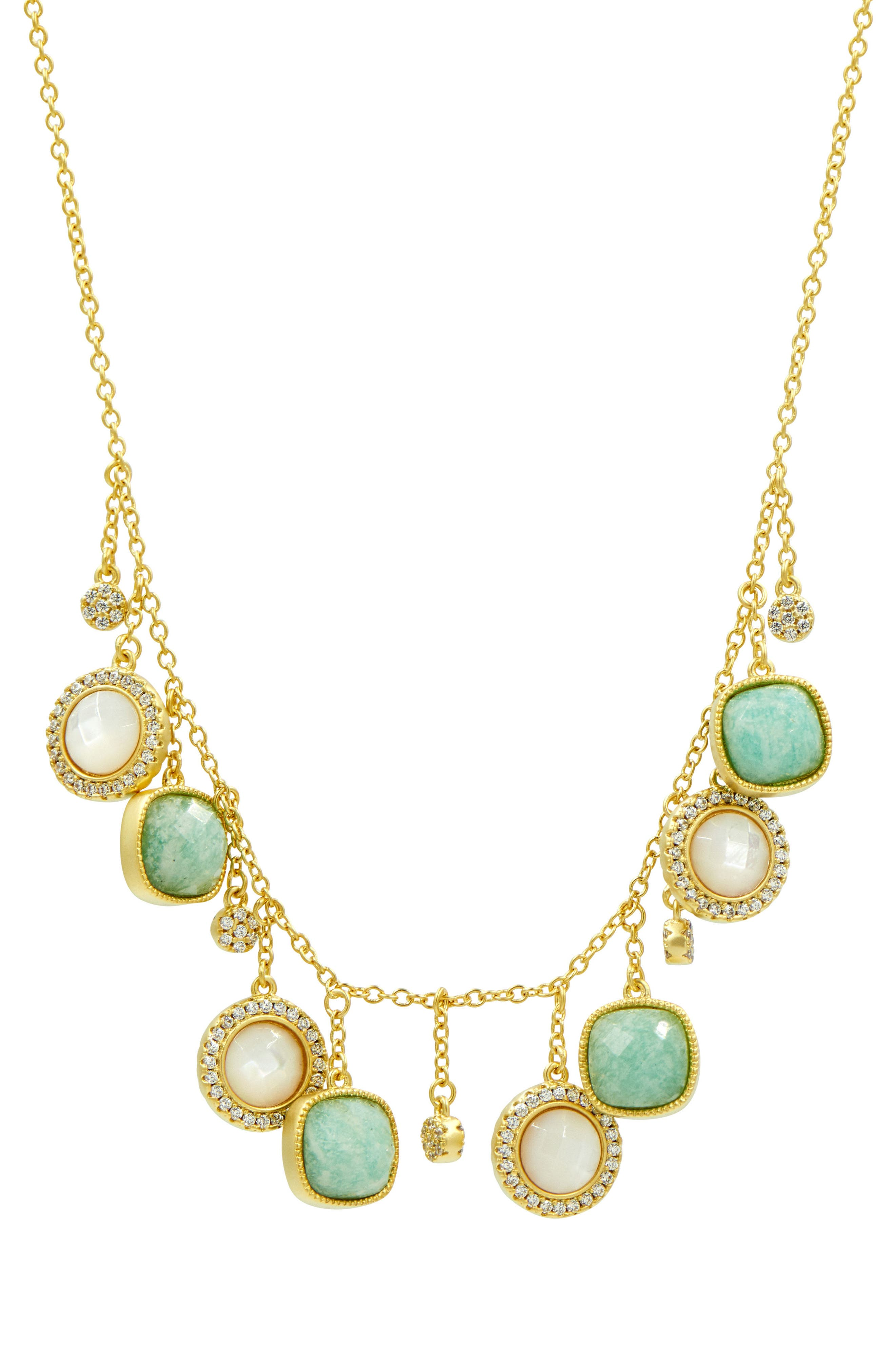 Amazonian Allure Frontal Necklace,                             Main thumbnail 1, color,                             710