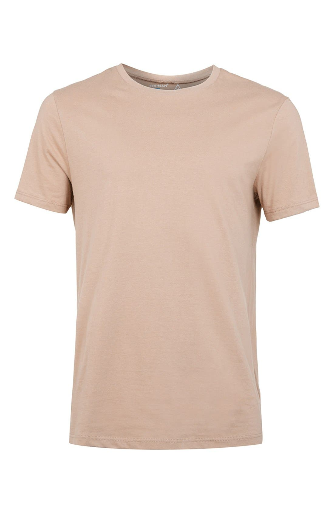 Slim Fit Crewneck T-Shirt,                             Alternate thumbnail 233, color,