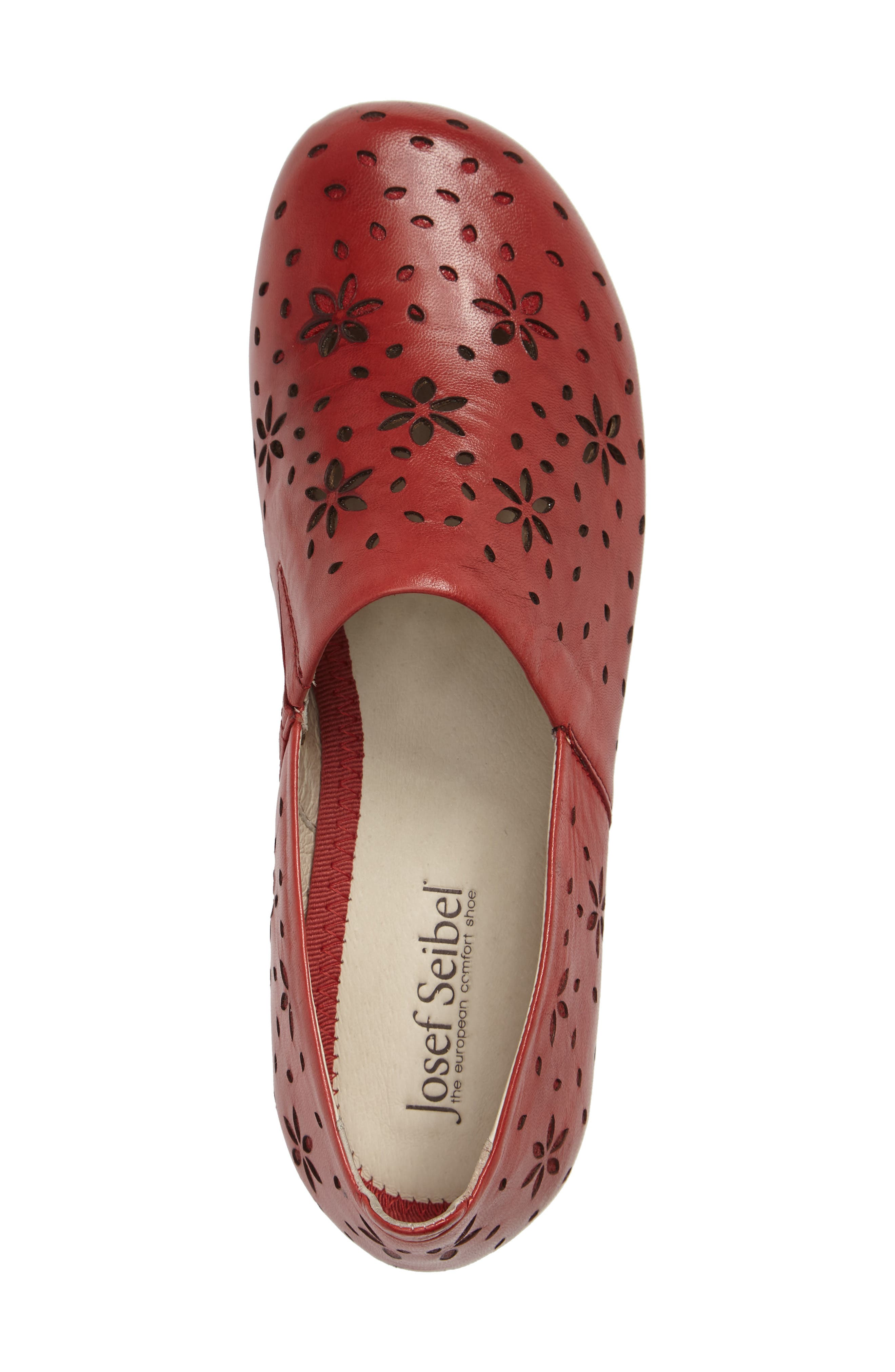 Fiona 31 Perforated Flat,                             Alternate thumbnail 9, color,