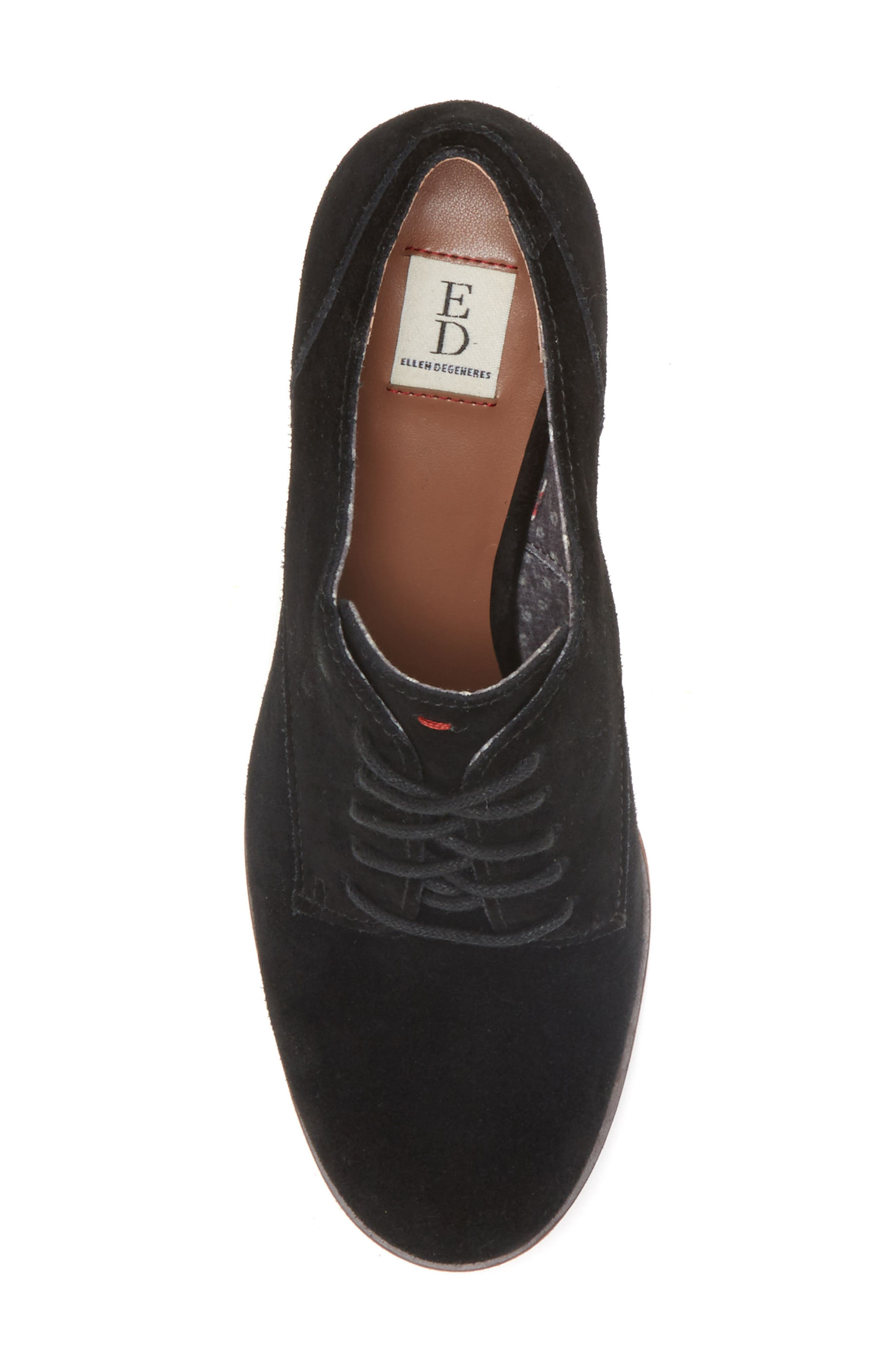 Phoebe Oxford Pump,                             Alternate thumbnail 4, color,                             001