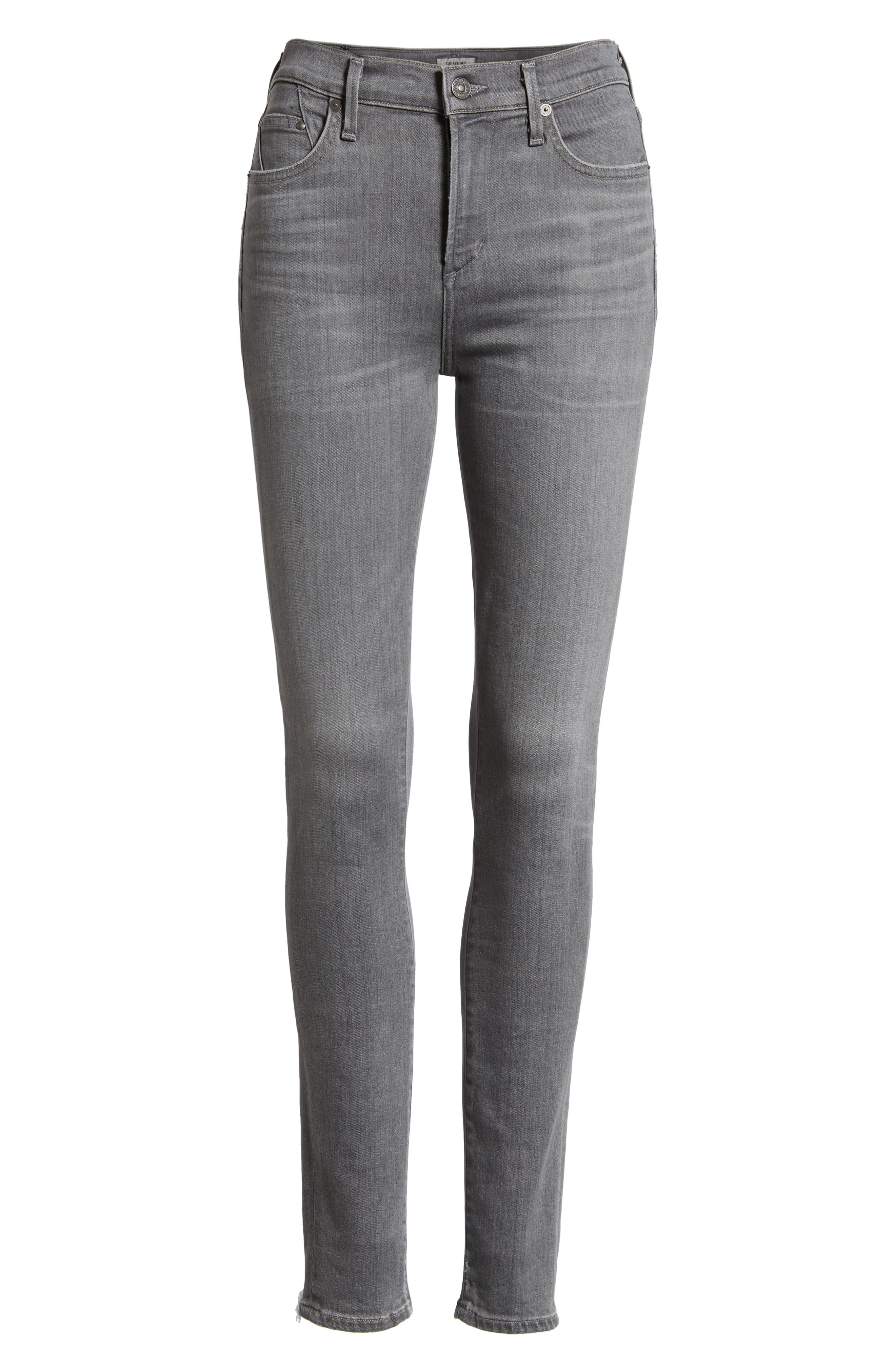 CITIZENS OF HUMANITY,                             Rocket High Waist Skinny Jeans,                             Alternate thumbnail 7, color,                             STATUETTE