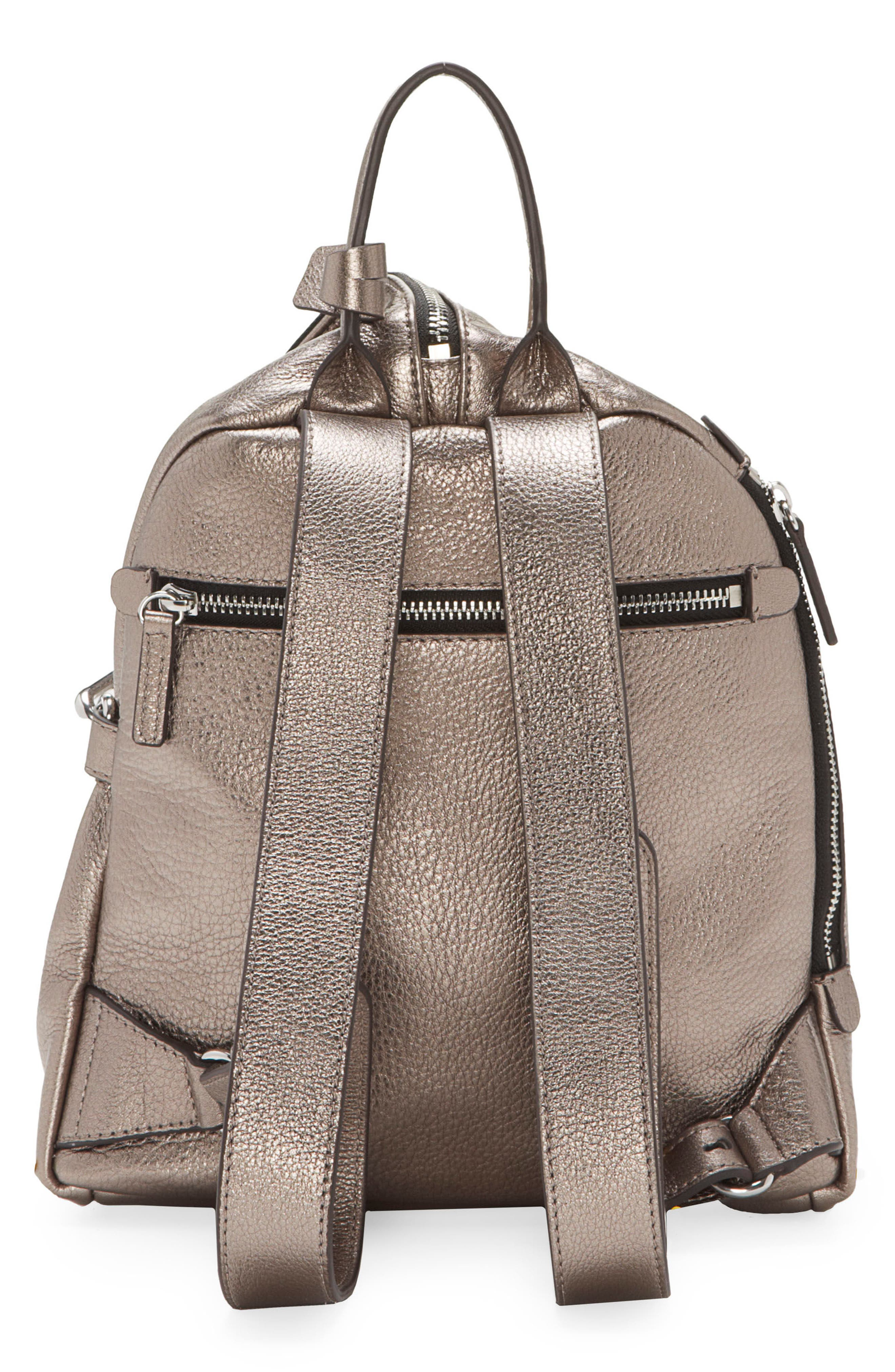 Small Giani Leather Backpack,                             Alternate thumbnail 2, color,                             020