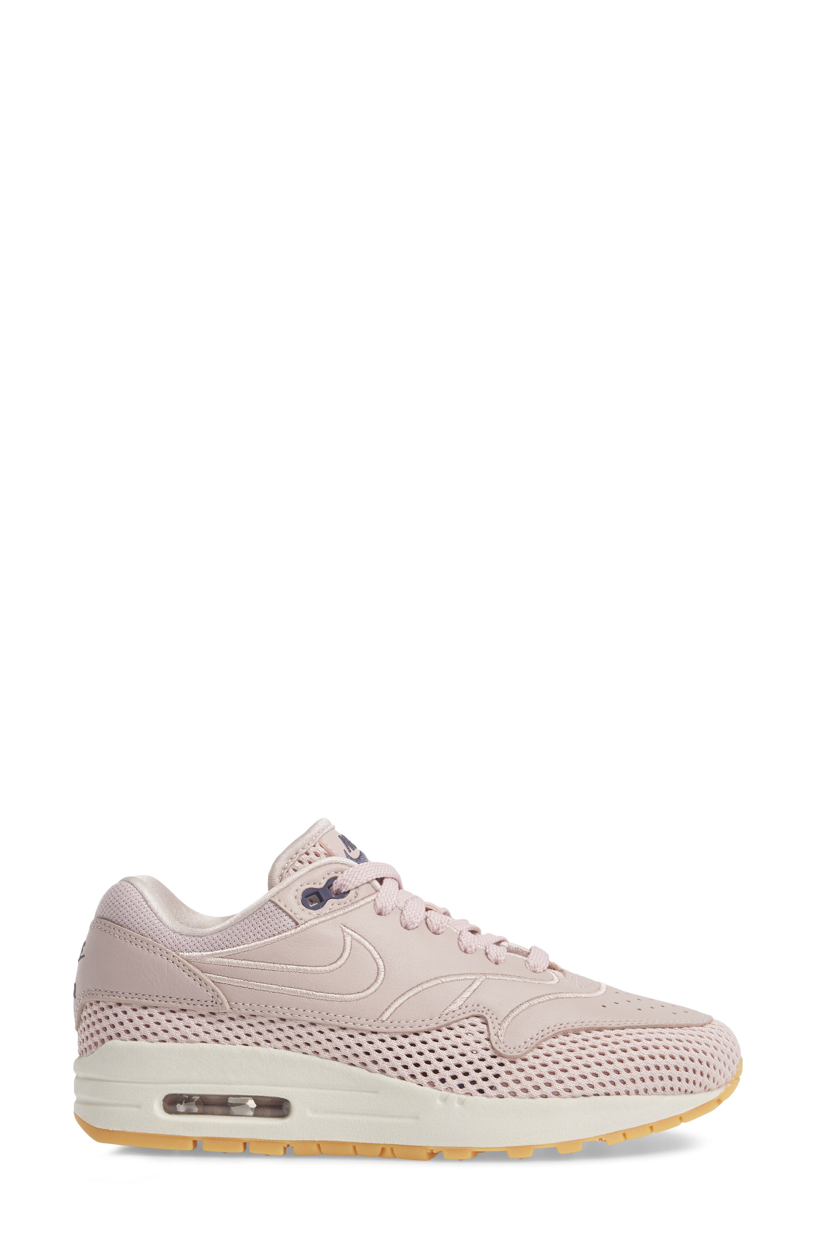 Air Max 1 SI Sneaker,                             Alternate thumbnail 3, color,                             PARTICLE ROSE/ PARTICLE ROSE