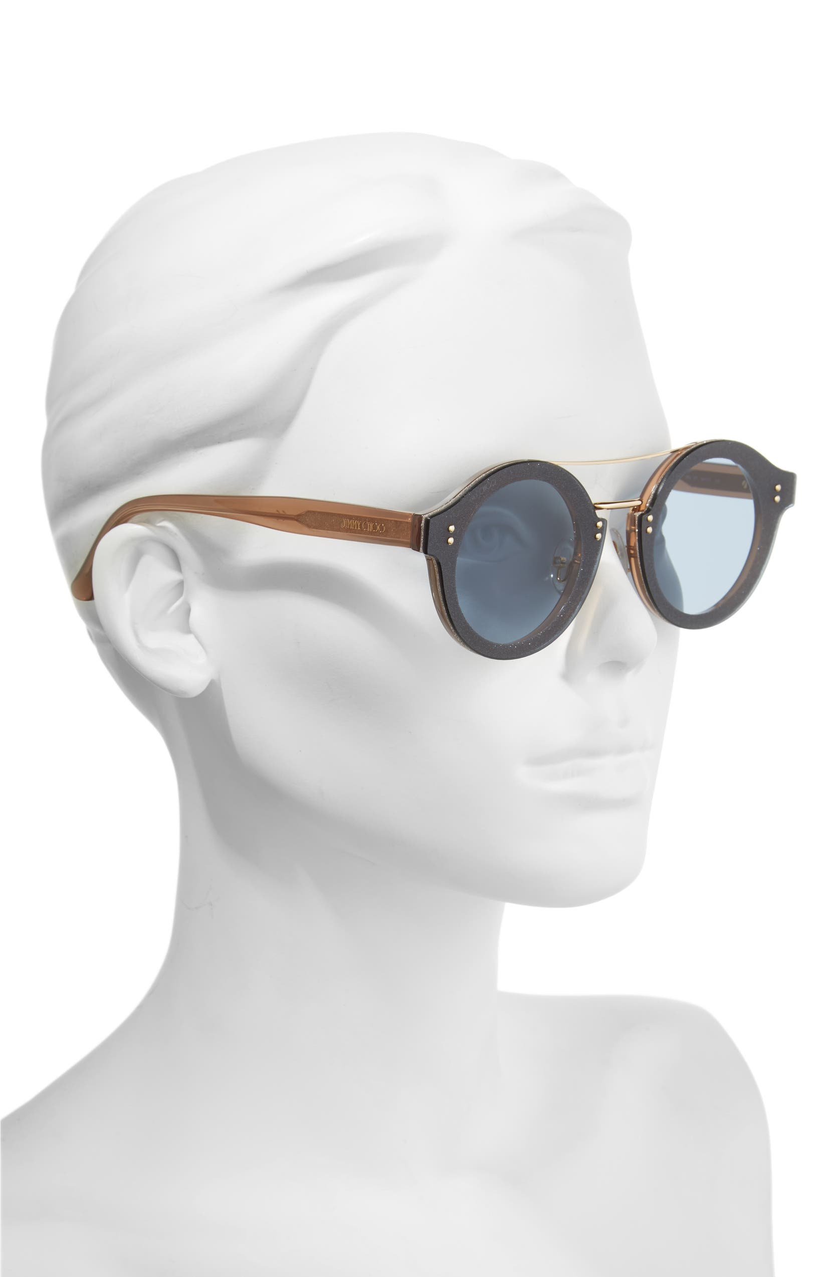 2a807b6c70 Jimmy Choo Monties 64mm Round Sunglasses