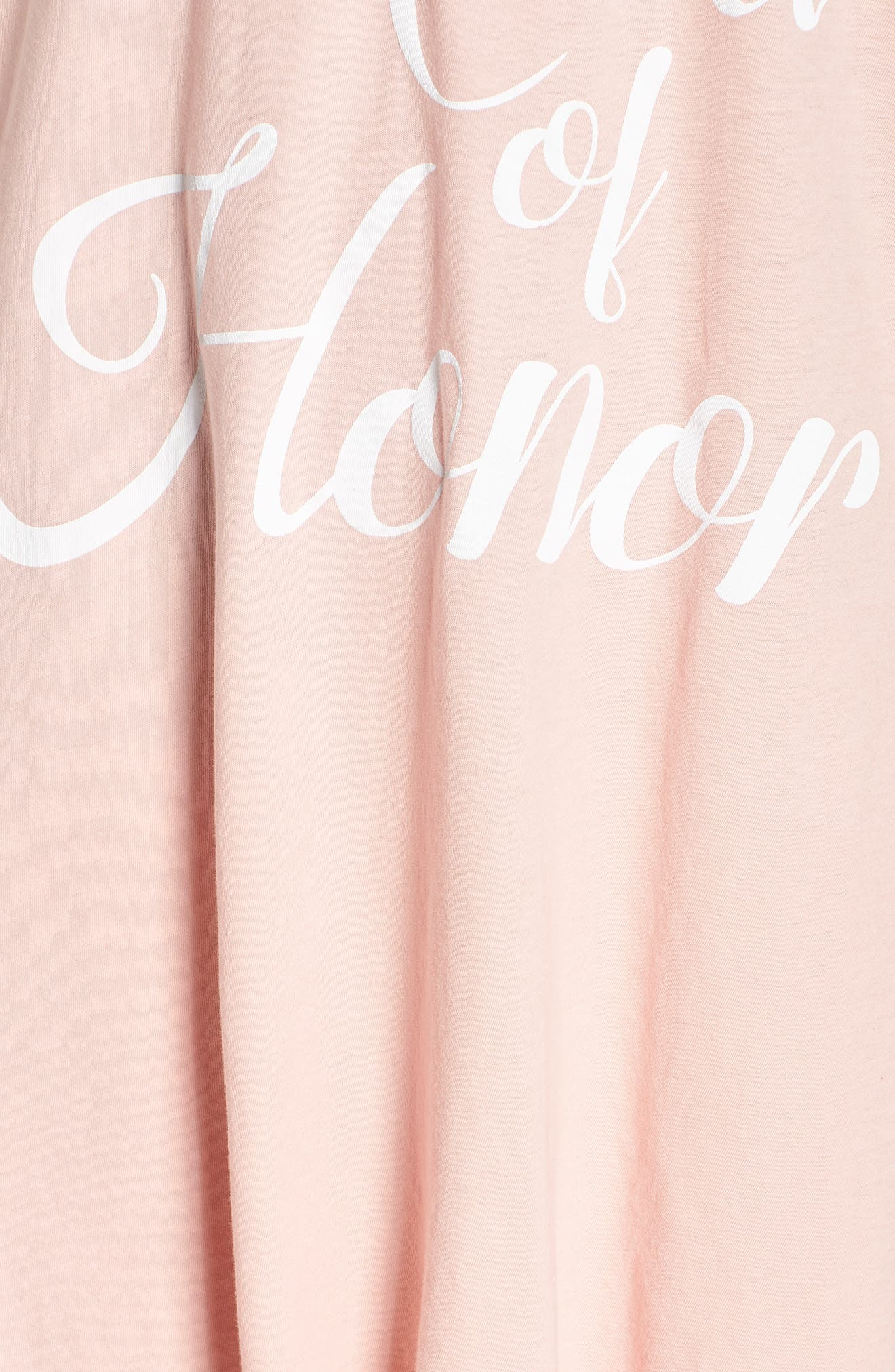 Maid of Honor Tunic,                             Alternate thumbnail 5, color,                             PINK