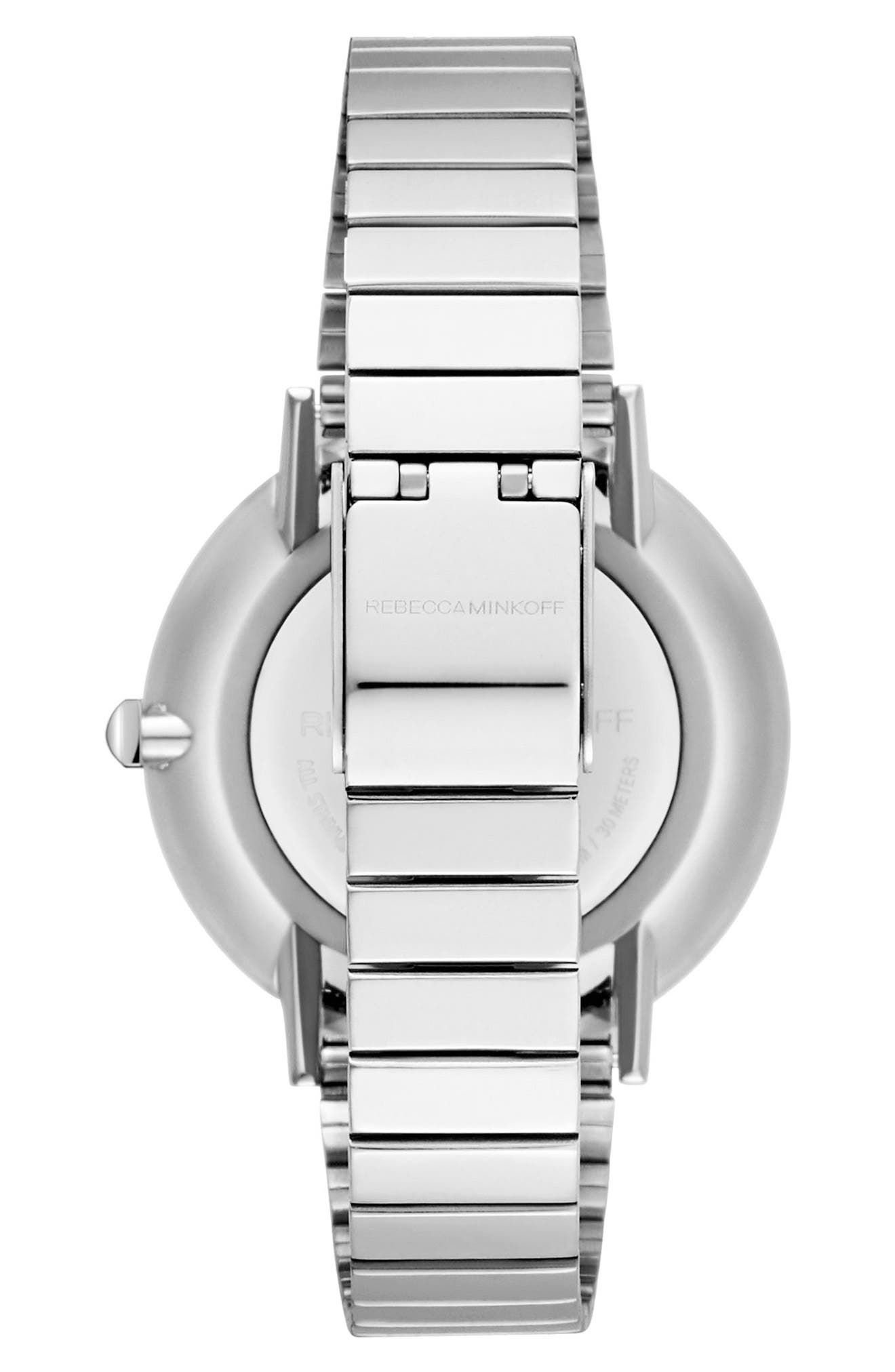 Major Bracelet Watch, 35mm,                             Alternate thumbnail 2, color,                             SILVER