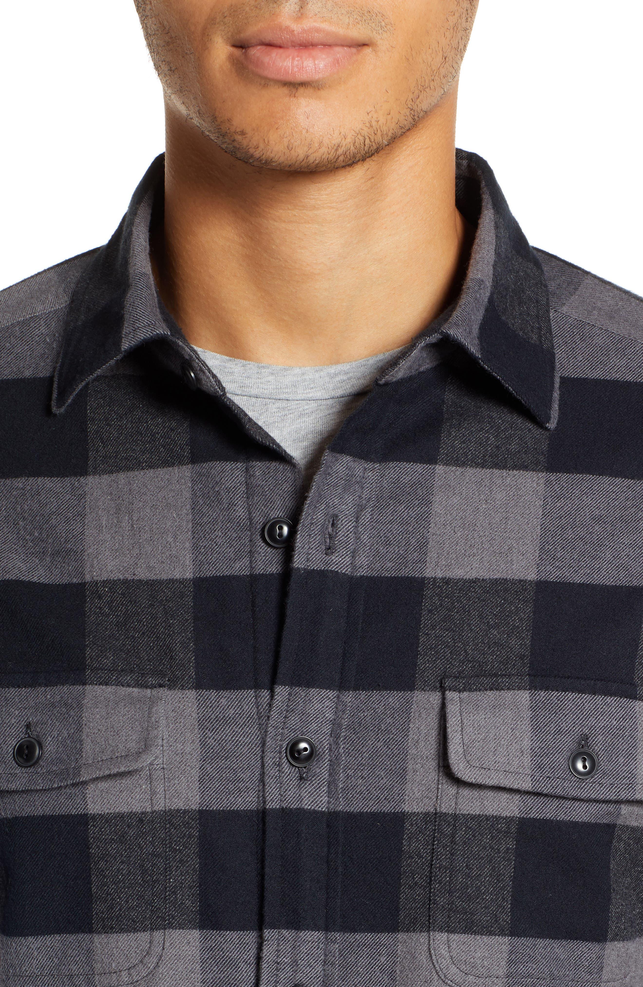 Deepwood Regular Fit Lined Flannel Shirt Jacket,                             Alternate thumbnail 2, color,                             EVENING SKY