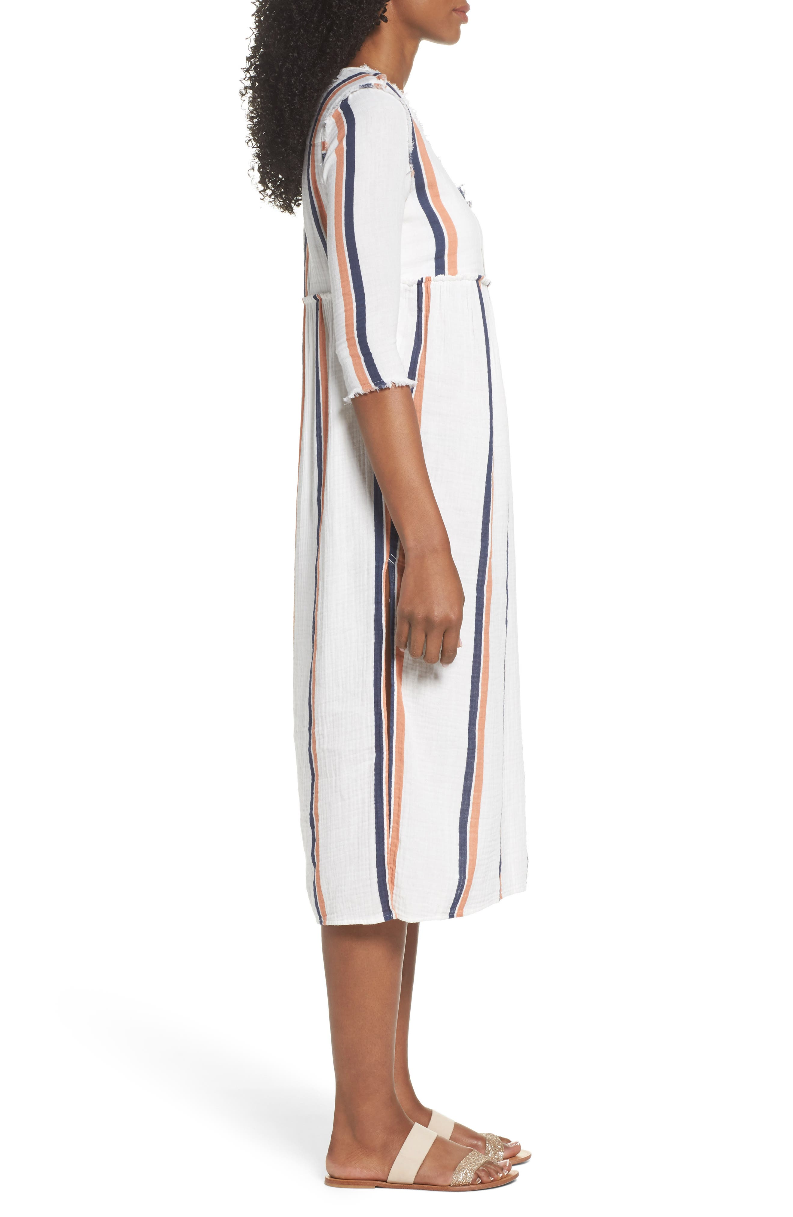 Oria Cover-Up Dress,                             Alternate thumbnail 3, color,                             100