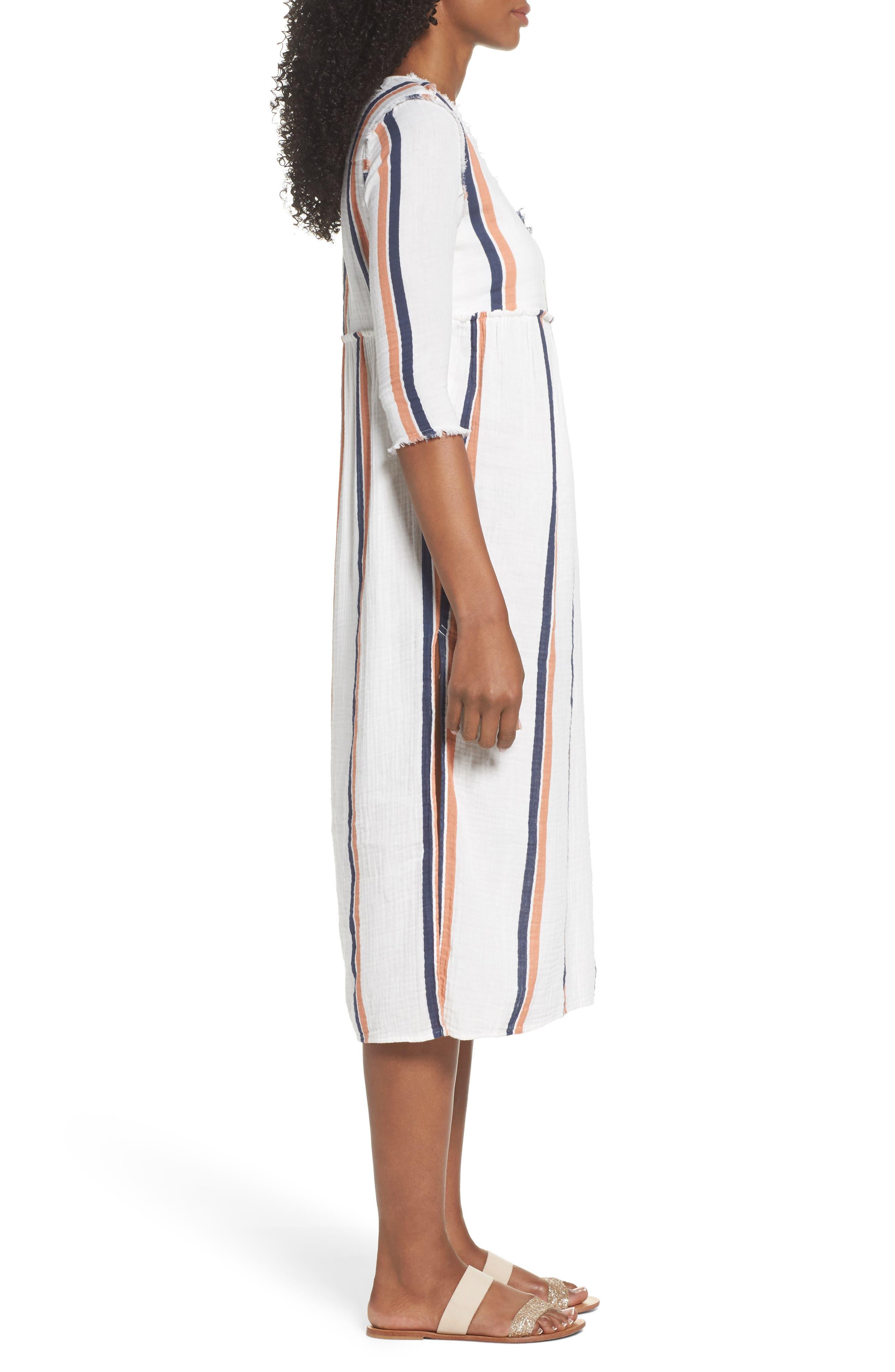 Oria Cover-Up Dress,                             Alternate thumbnail 3, color,                             AUGUSTUS DESERT CLAY