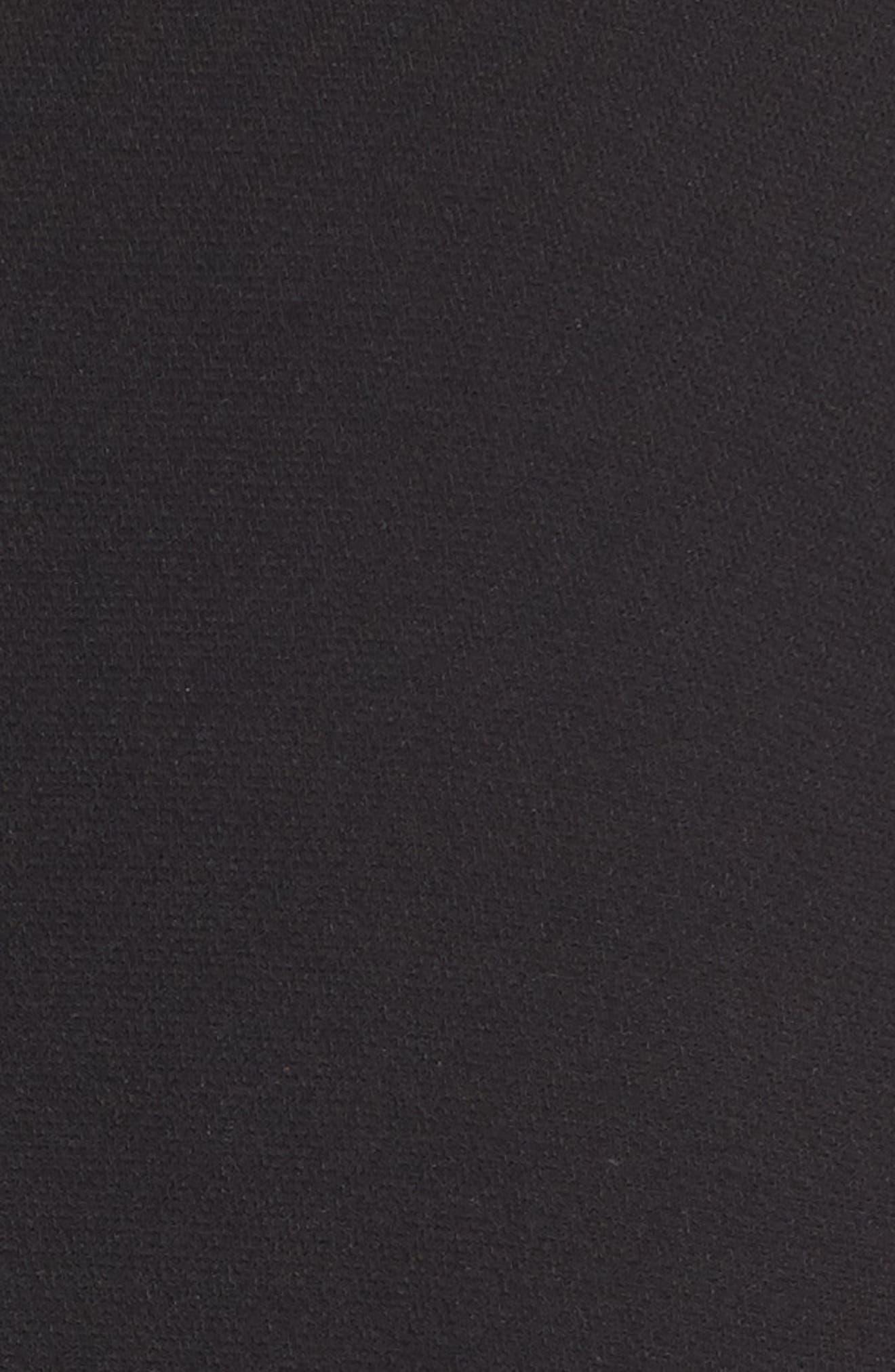 Ruffle Sleeve Blazer,                             Alternate thumbnail 6, color,                             001