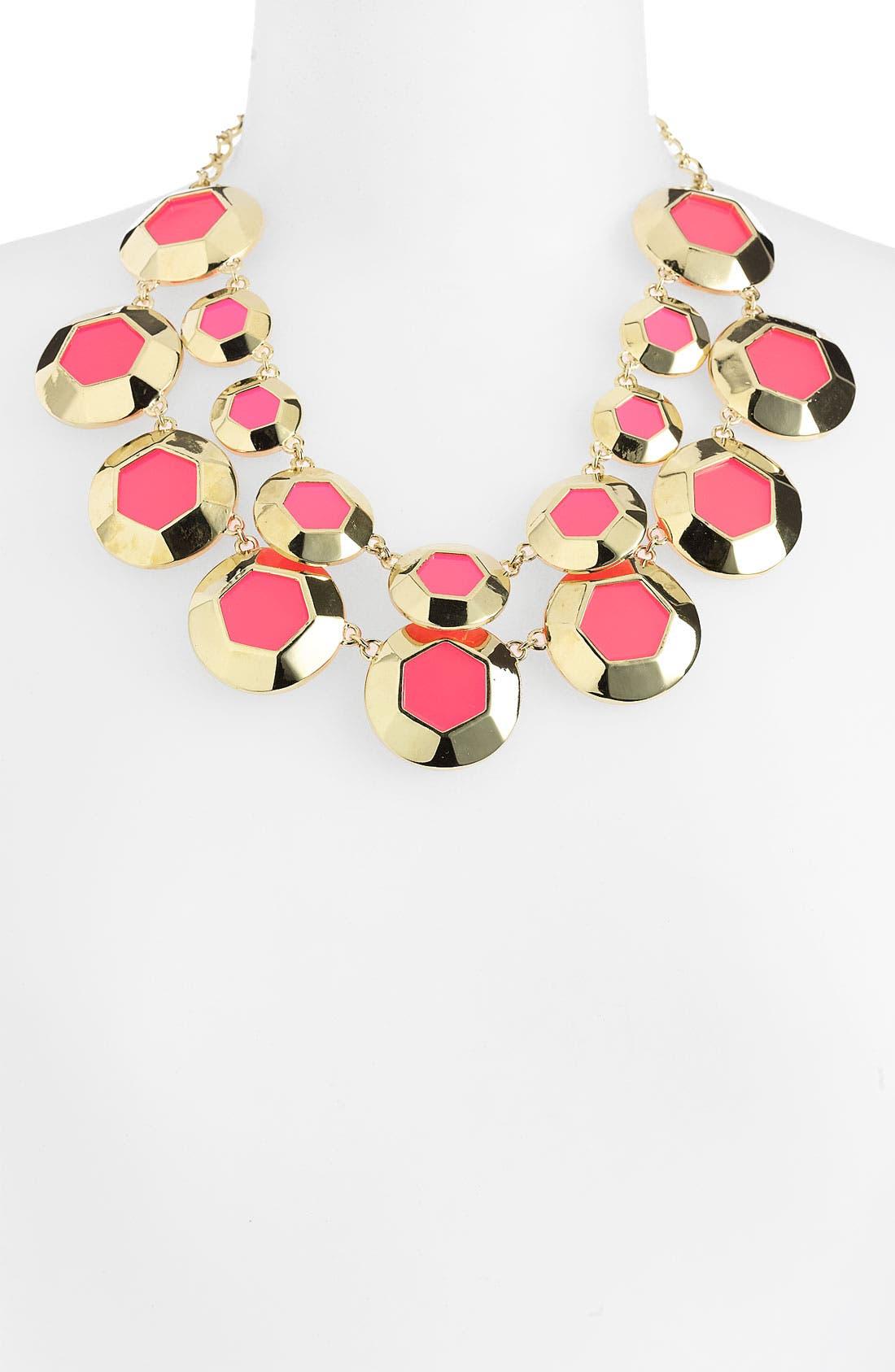 KATE SPADE NEW YORK,                             'bauble box' double row bib necklace,                             Alternate thumbnail 2, color,                             670