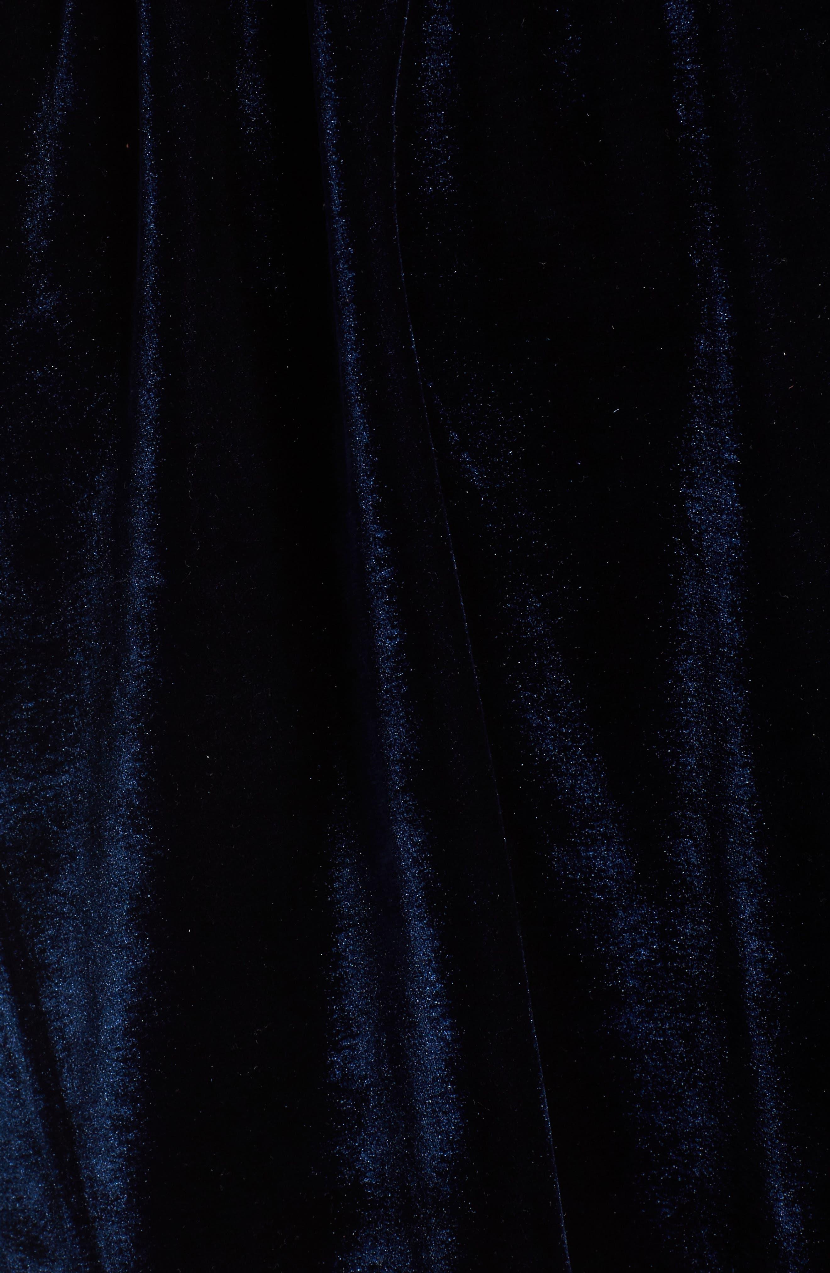 Tawney Velvet Wrap Dress,                             Alternate thumbnail 5, color,                             400