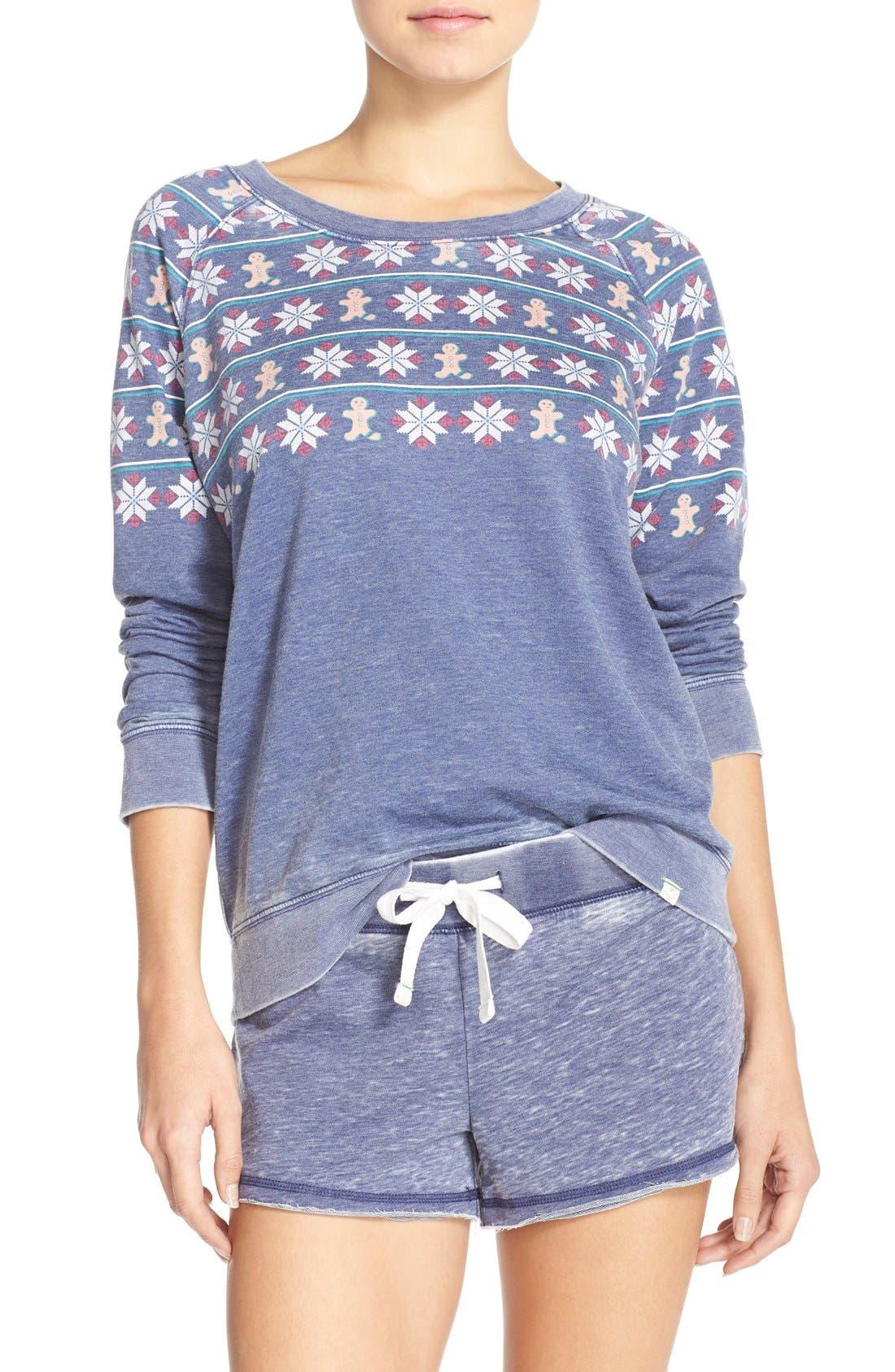 Burnout Lounge Sweatshirt,                             Main thumbnail 30, color,