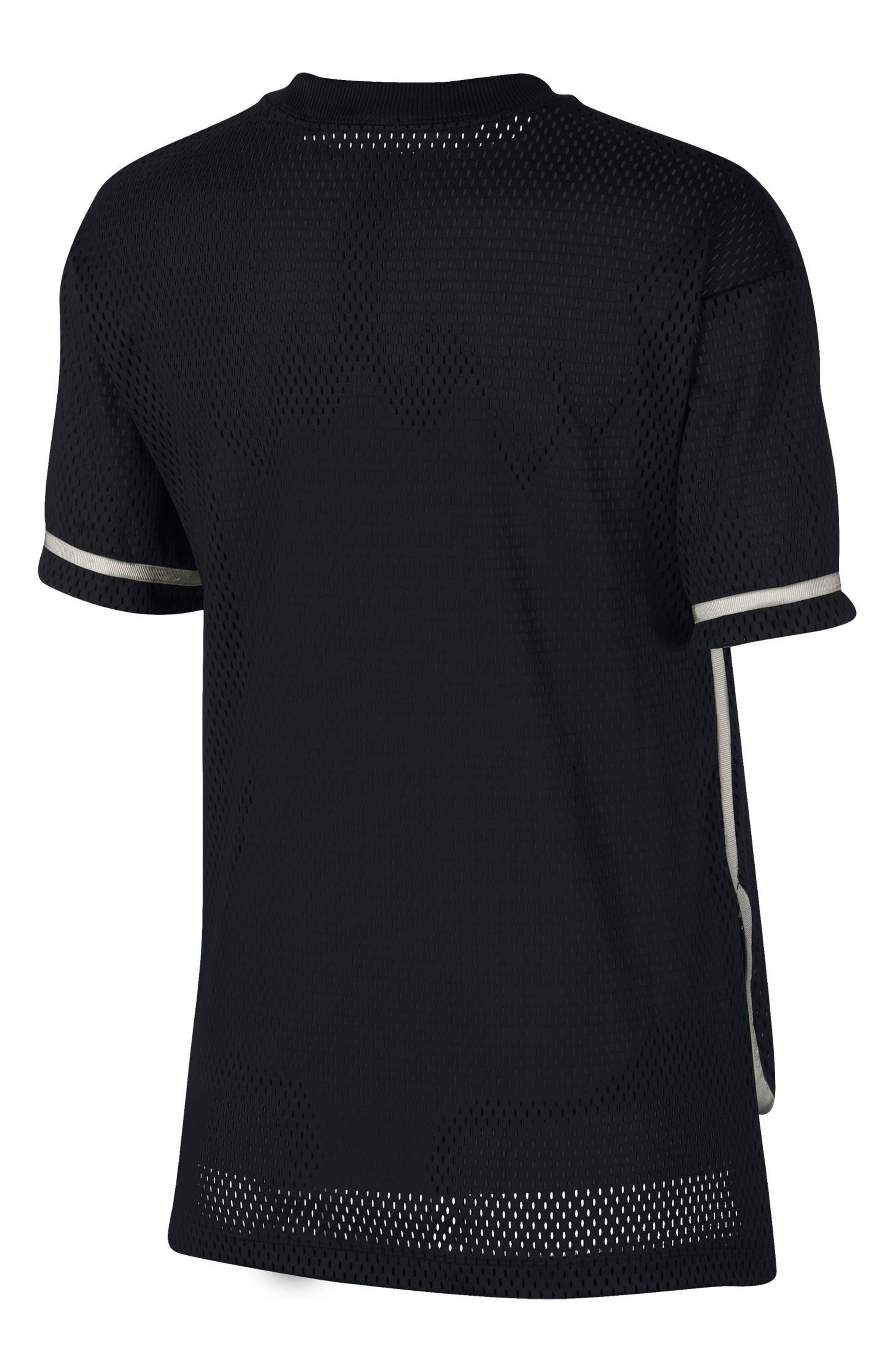 Sportswear Short Sleeve Dri-FIT Mesh Tee,                             Alternate thumbnail 2, color,                             010