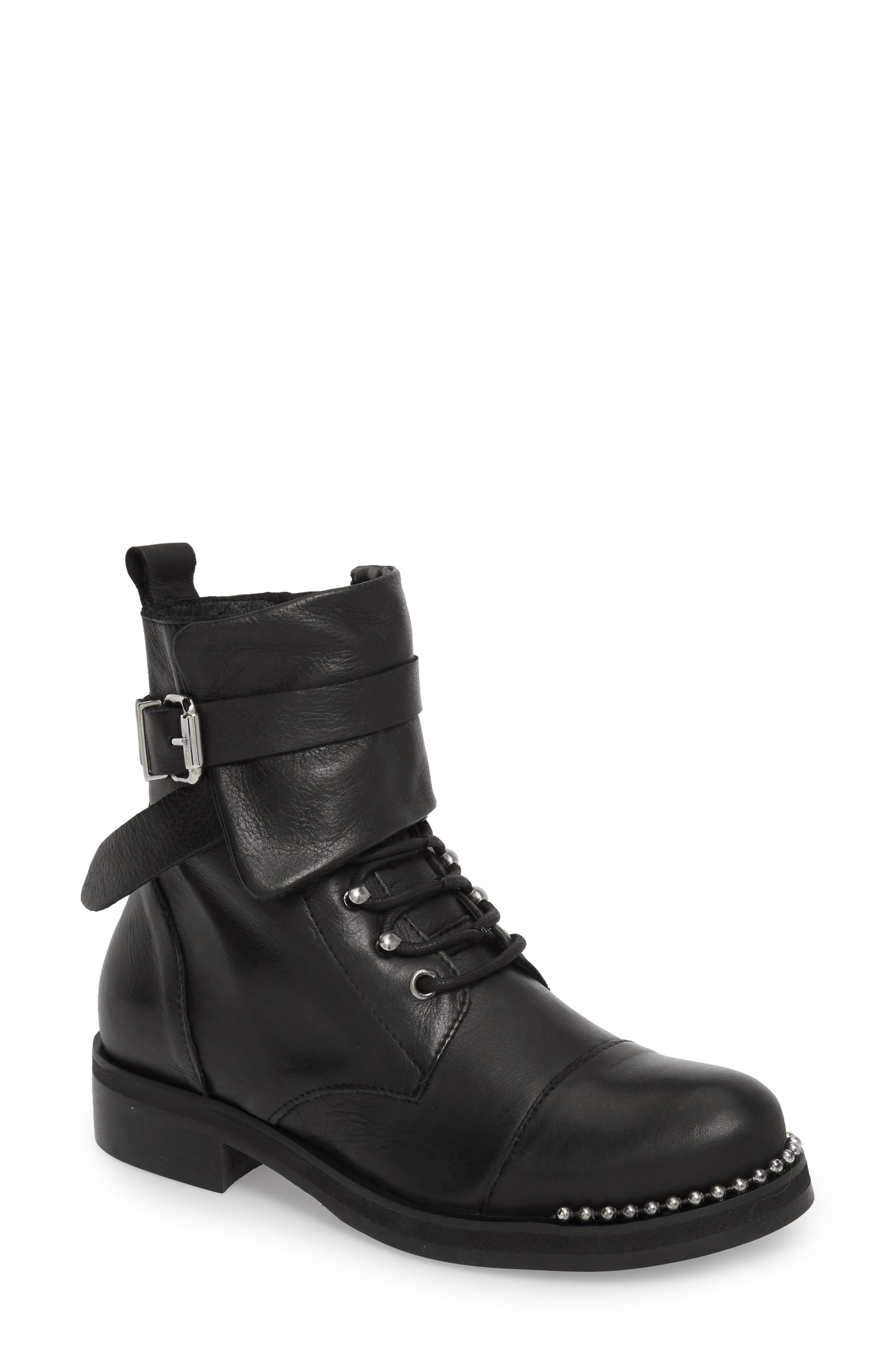 Scorch Boot,                             Main thumbnail 1, color,                             BLACK LEATHER