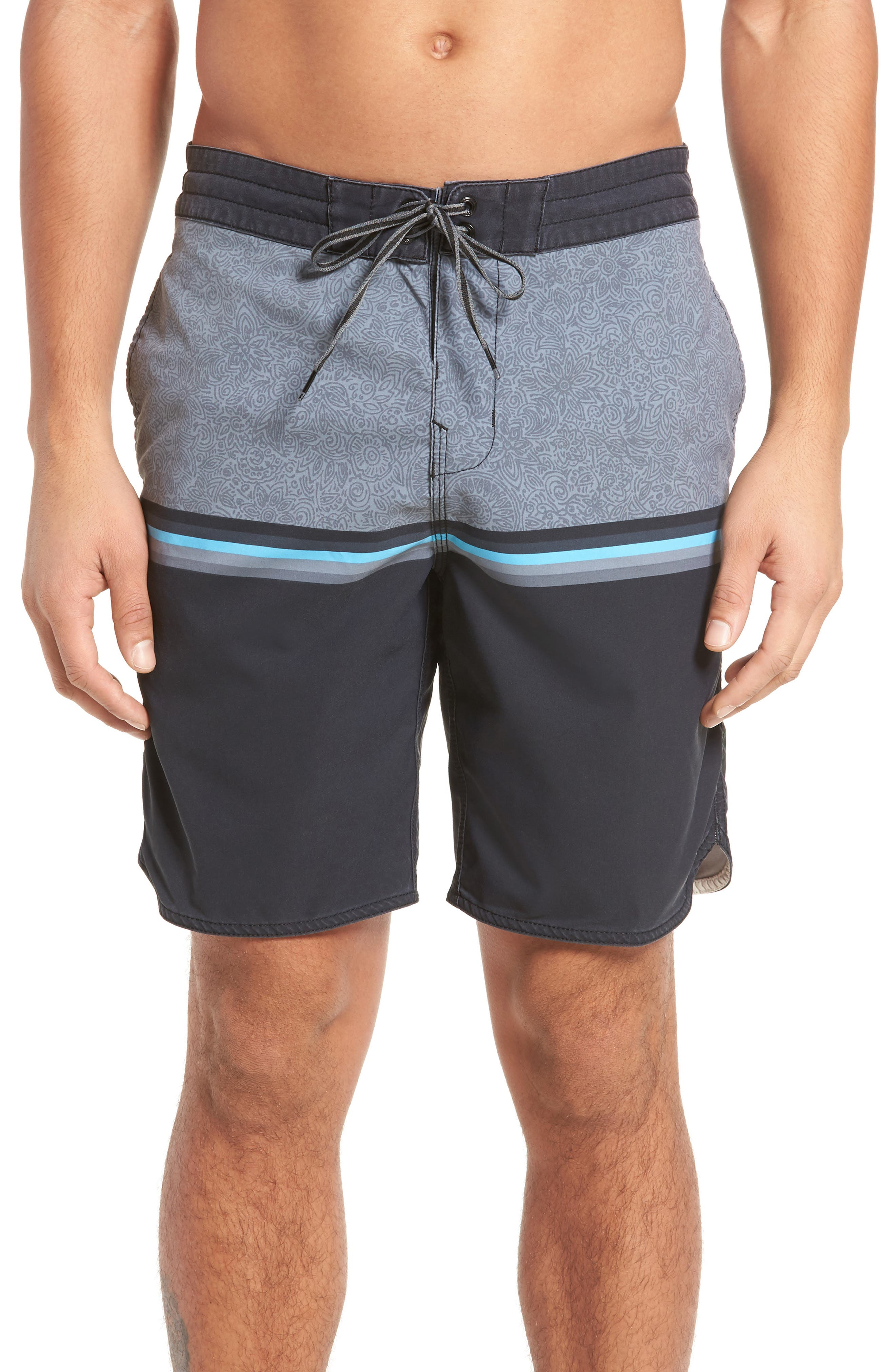 Fifty50 Low Tide Swim Trunks,                             Main thumbnail 1, color,