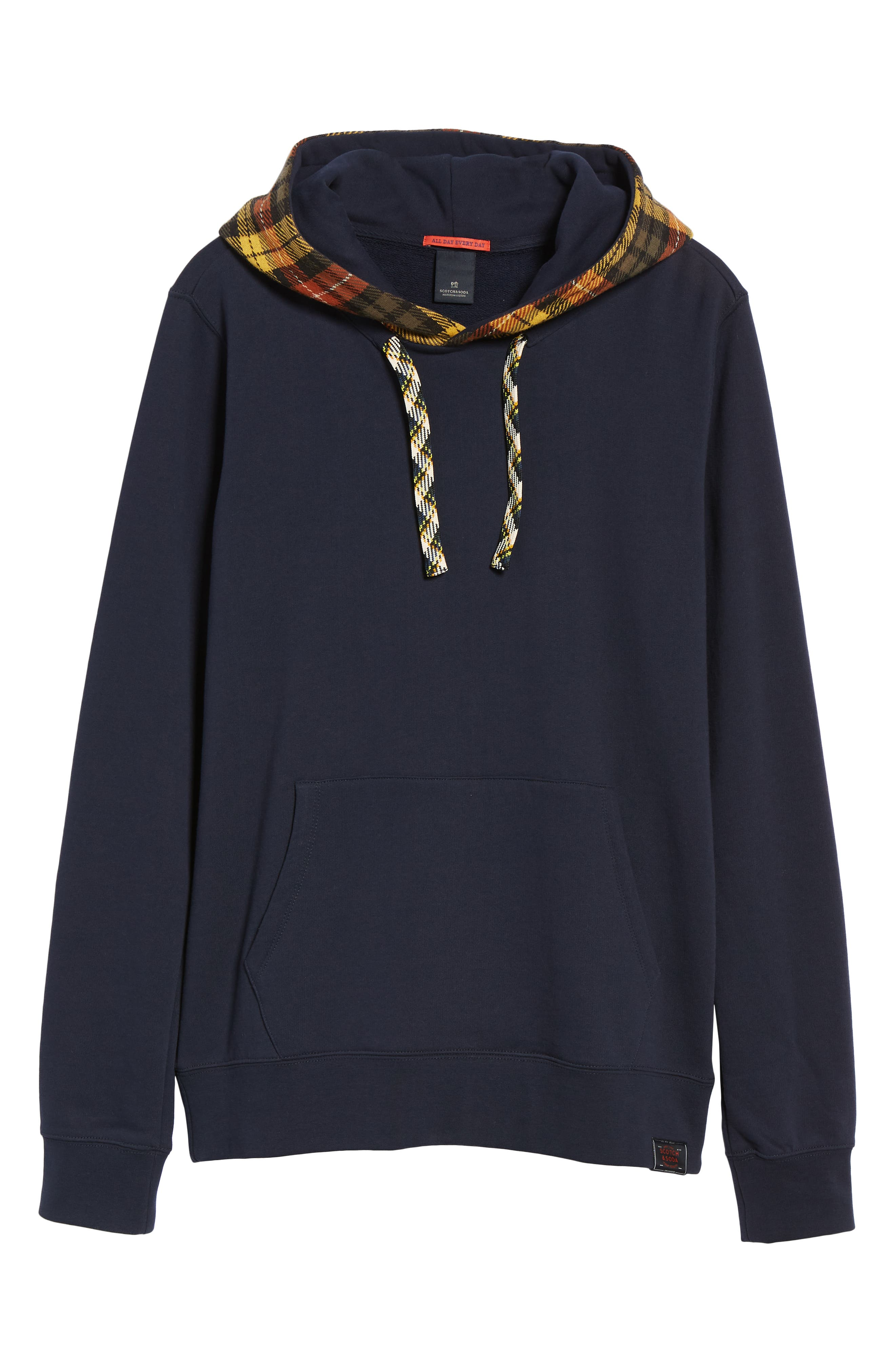 Contrast Hooded Pullover,                             Alternate thumbnail 6, color,                             COMBO A