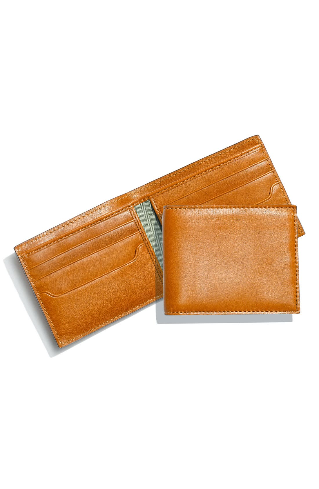 Leather Billfold,                             Main thumbnail 3, color,