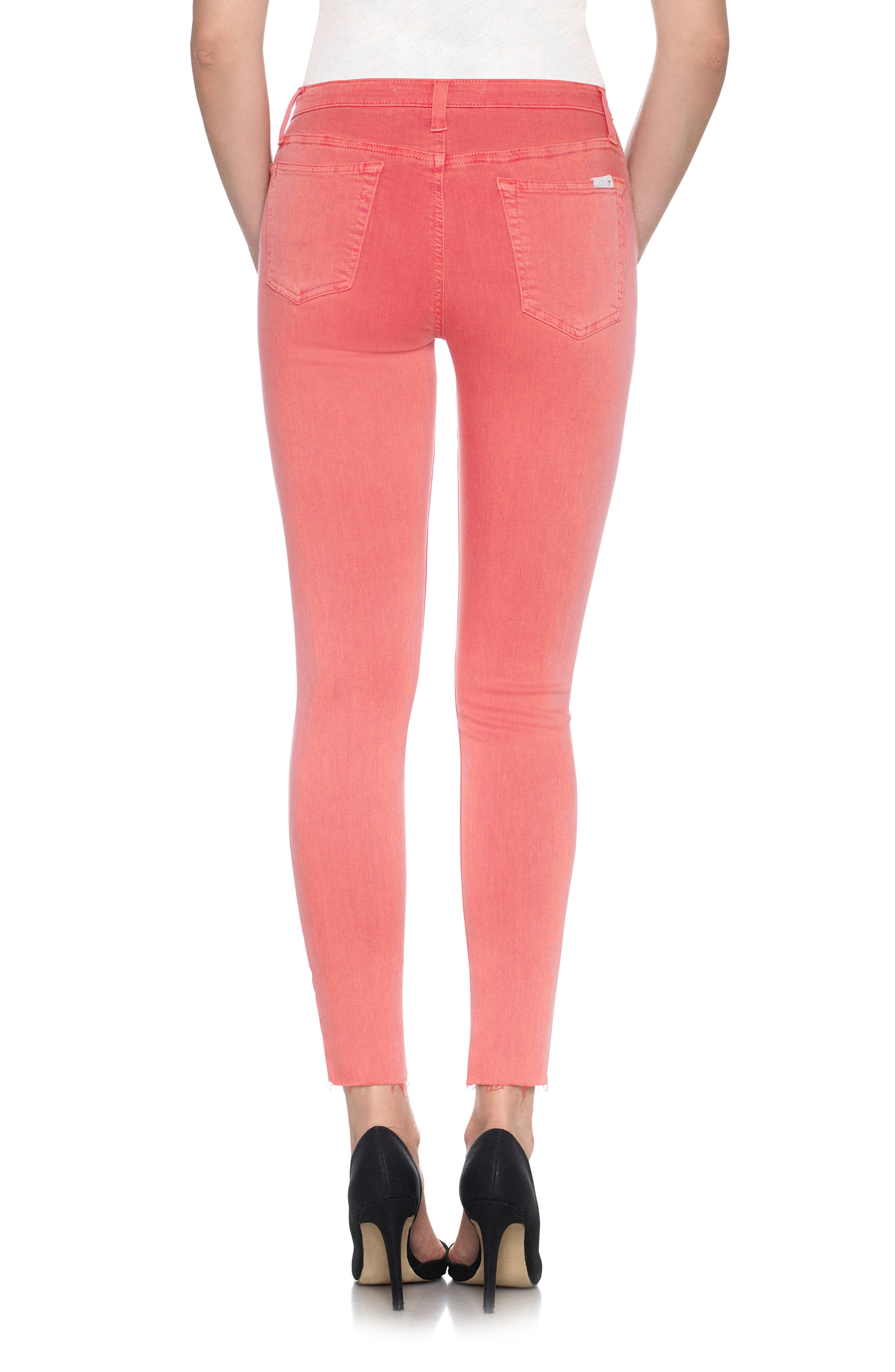 Charlie High Rise Ankle Skinny Jeans,                             Alternate thumbnail 17, color,