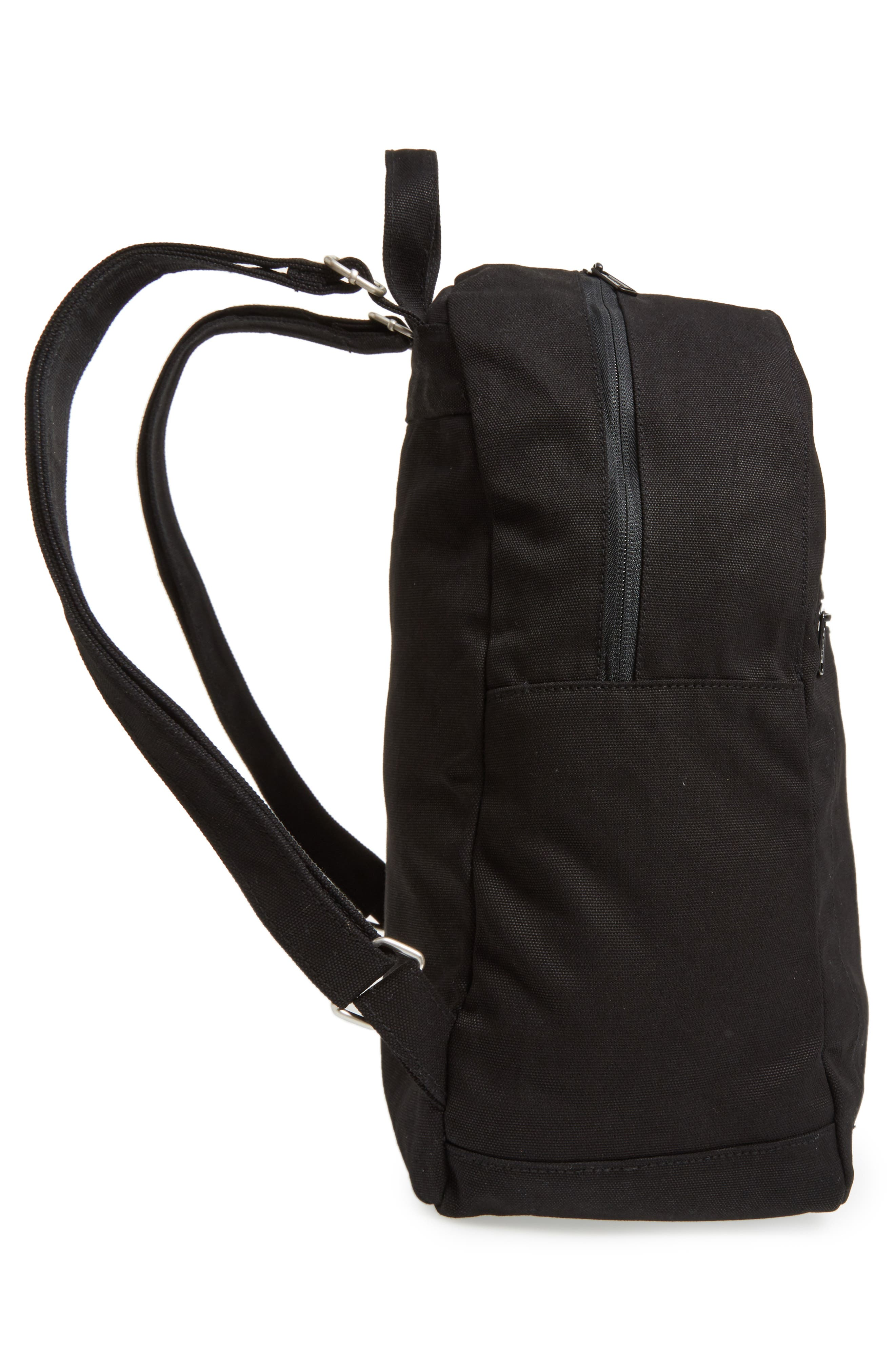 Canvas Backpack,                             Alternate thumbnail 5, color,                             001