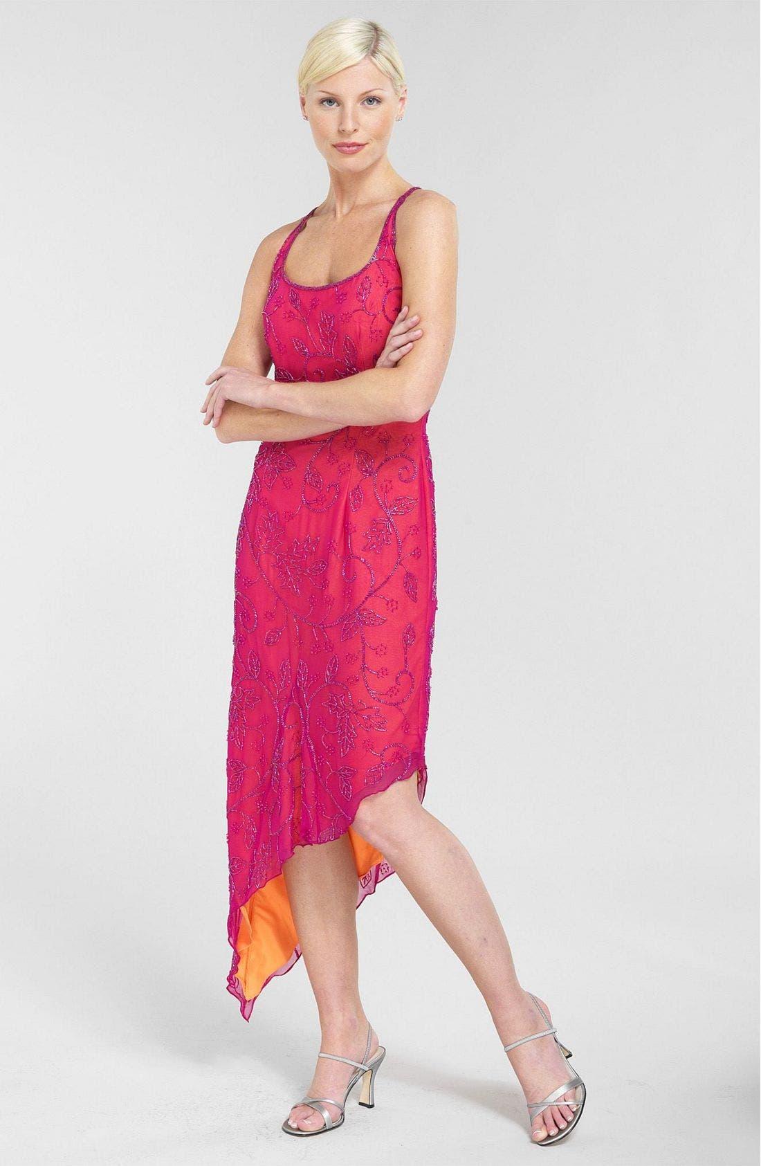 by Andretta Donatello Beaded Dress, Main, color, 952