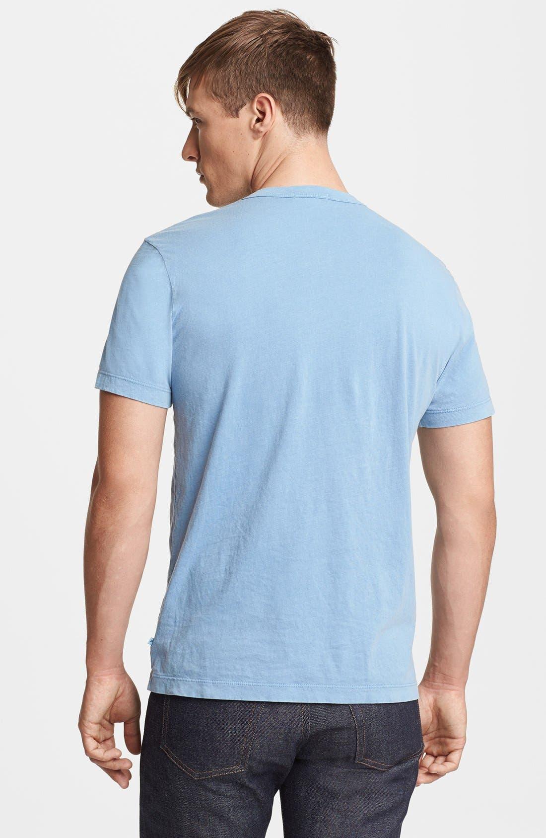 Crewneck Jersey T-Shirt,                             Alternate thumbnail 224, color,