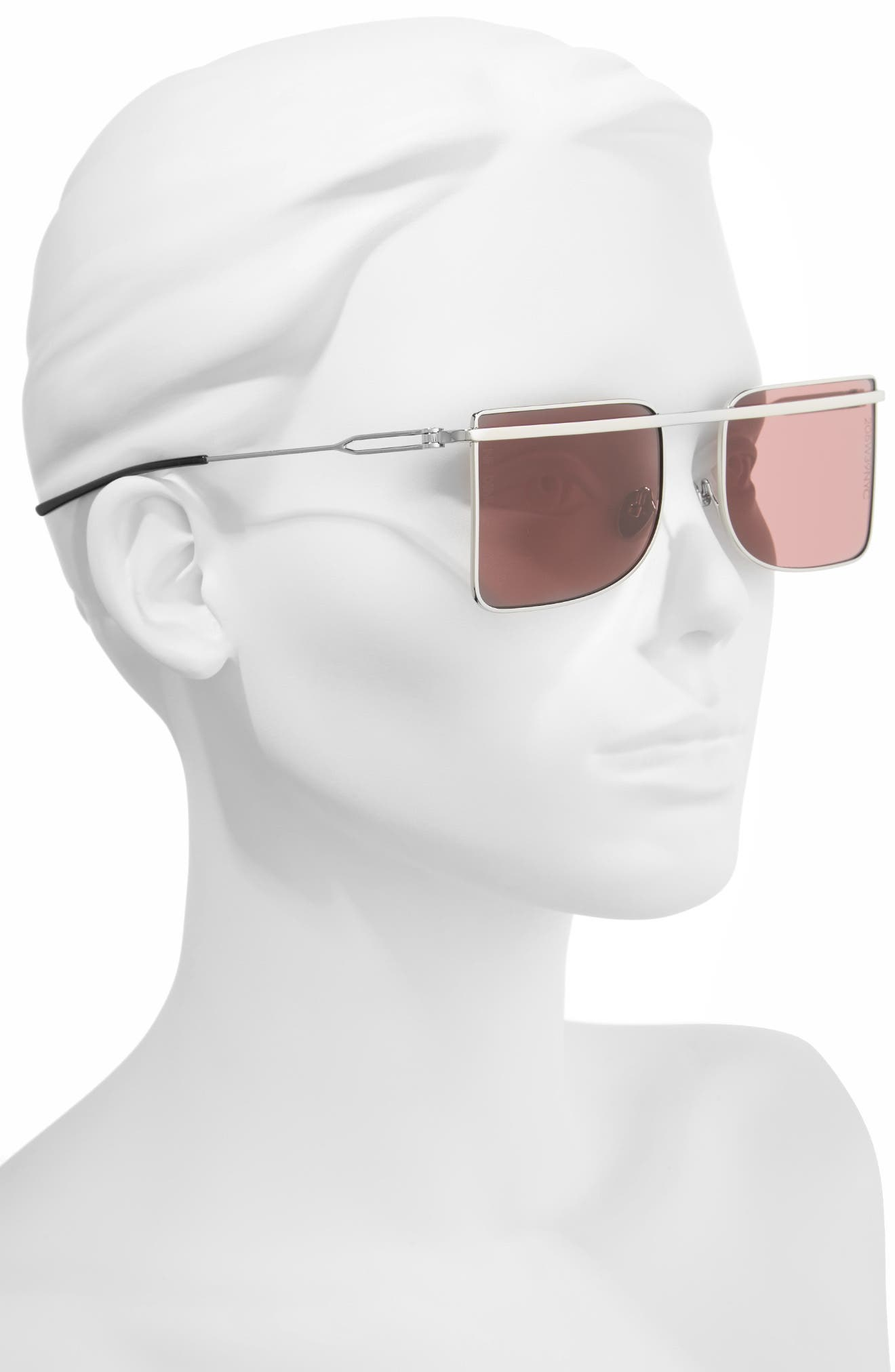 205W39NYC 56mm Butterfly Sunglasses,                             Alternate thumbnail 2, color,                             040