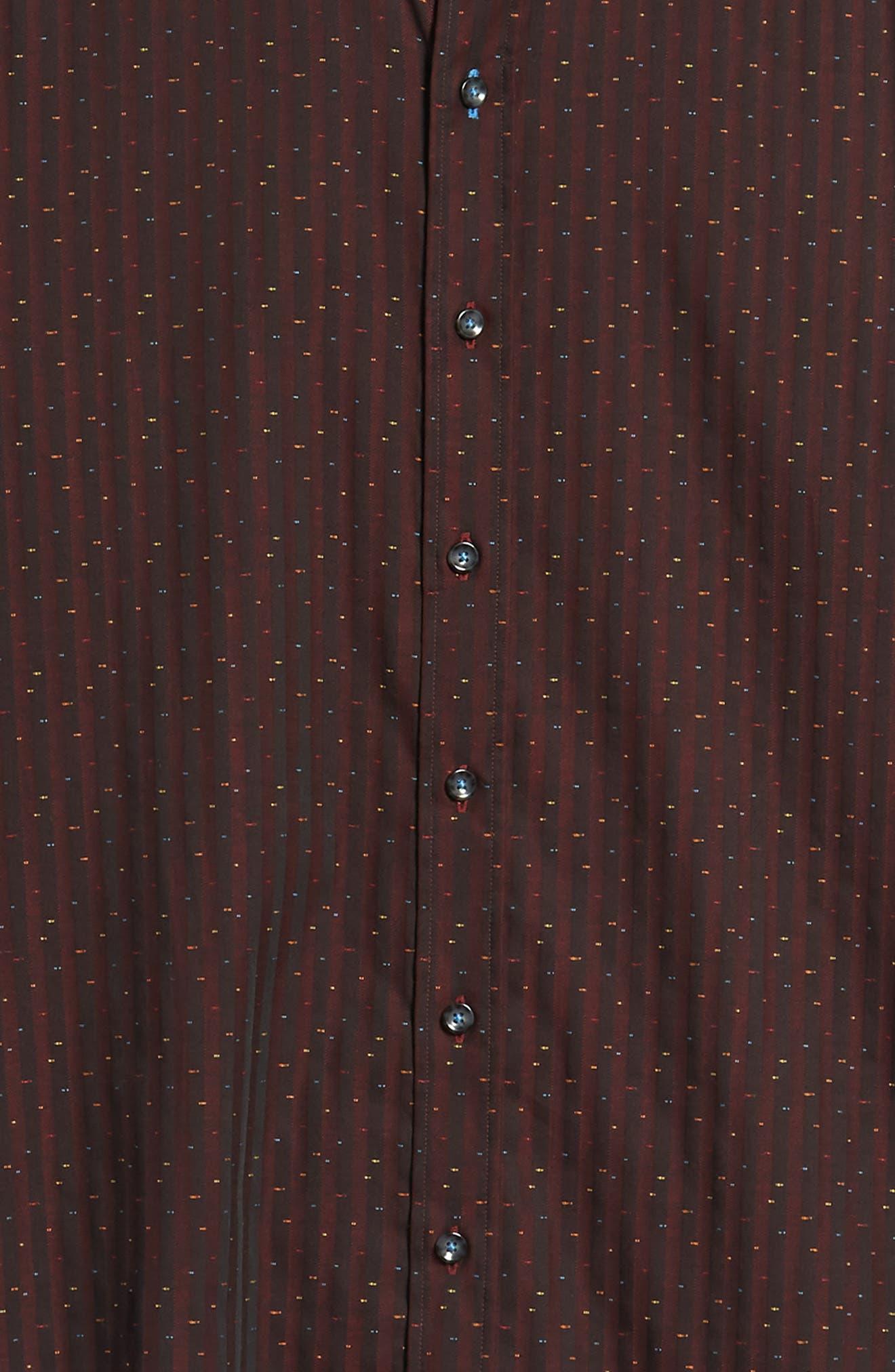 ROBERT GRAHAM,                             McDermott Tailored Fit Print Sport Shirt,                             Alternate thumbnail 6, color,                             603