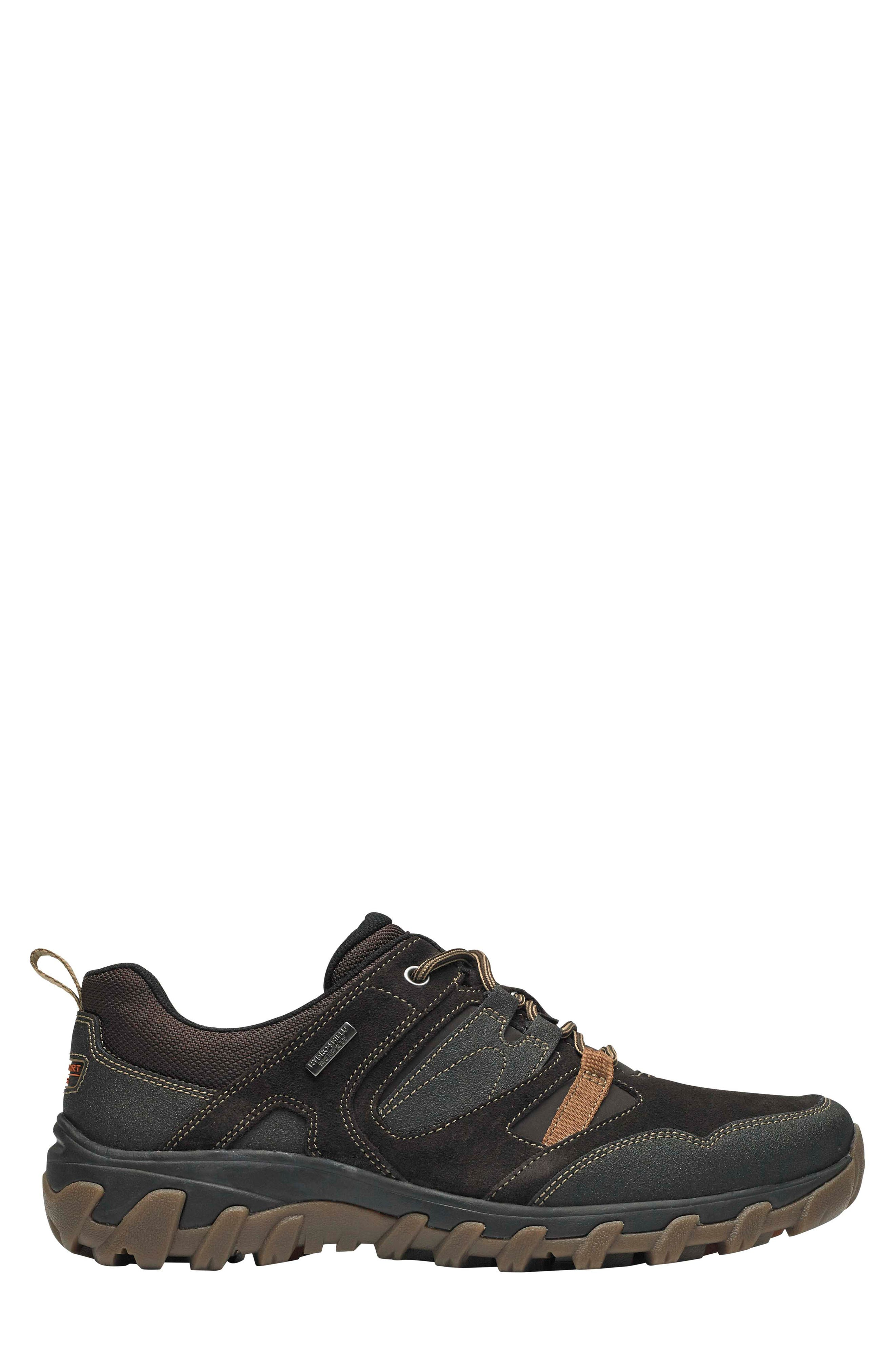 Cold Springs Plus Lace-Up Sneaker,                             Alternate thumbnail 3, color,                             DARK BROWN LEATHER