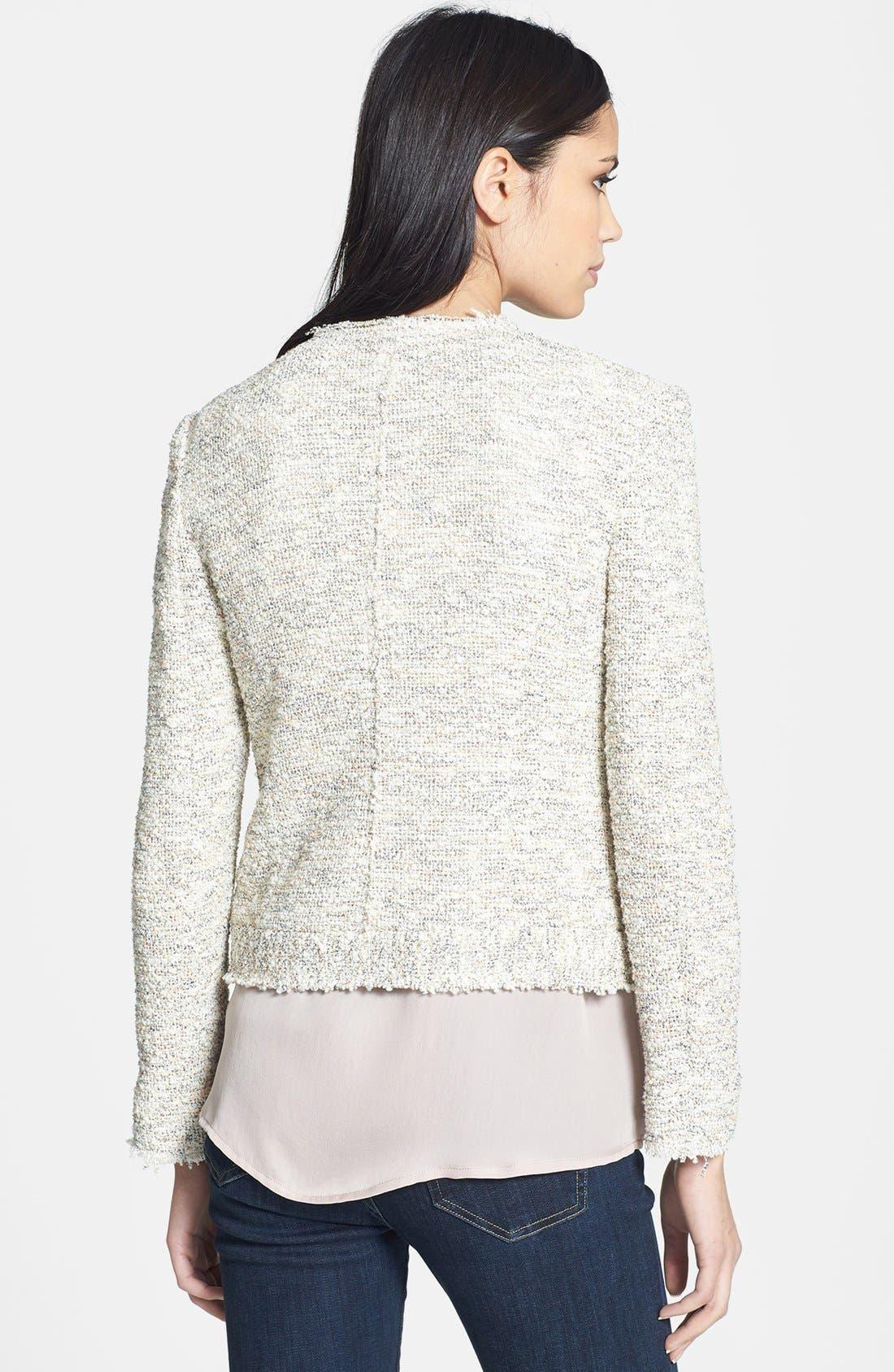 'Balina' Tweed Jacket,                             Alternate thumbnail 7, color,                             114