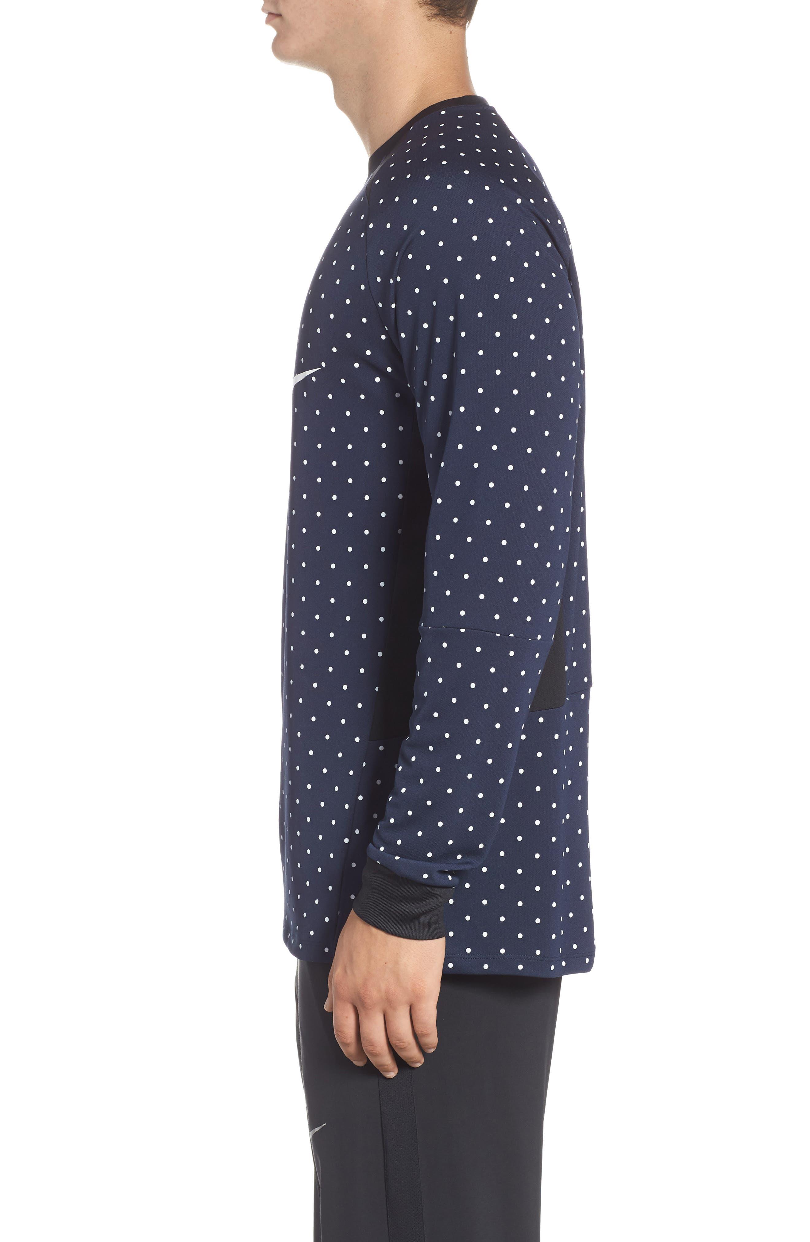 NSW Long Sleeve Shirt,                             Alternate thumbnail 3, color,                             451